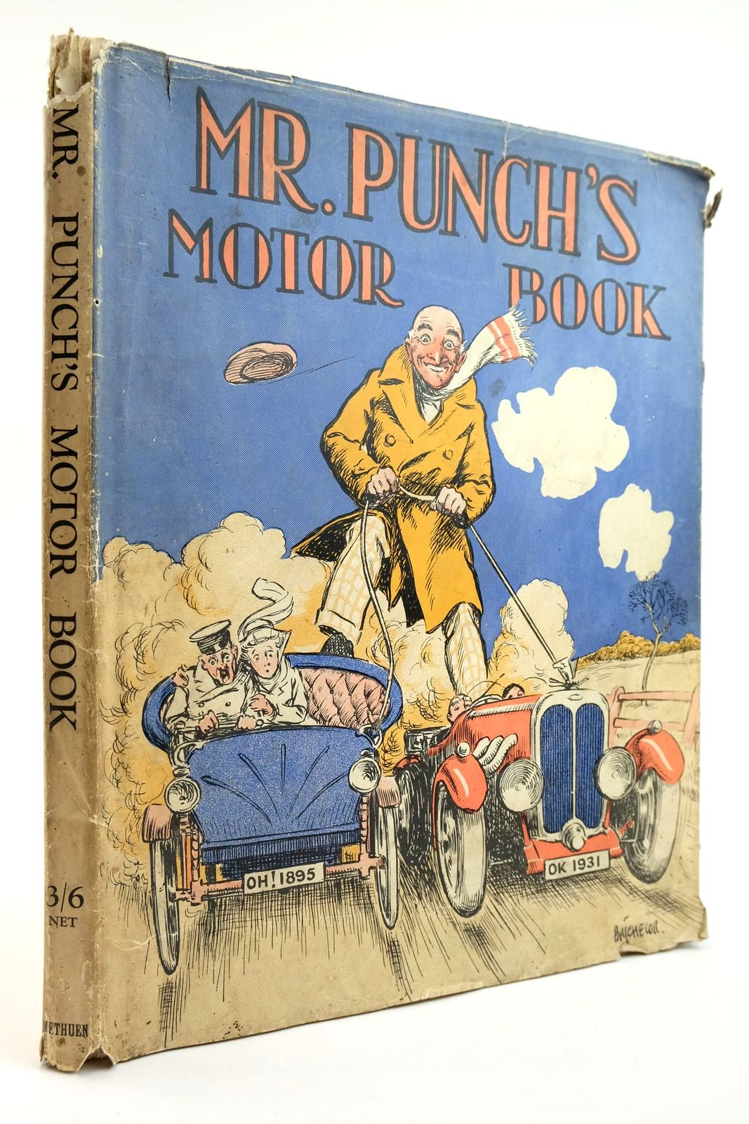 Photo of MR. PUNCH'S MOTOR BOOK- Stock Number: 2133455