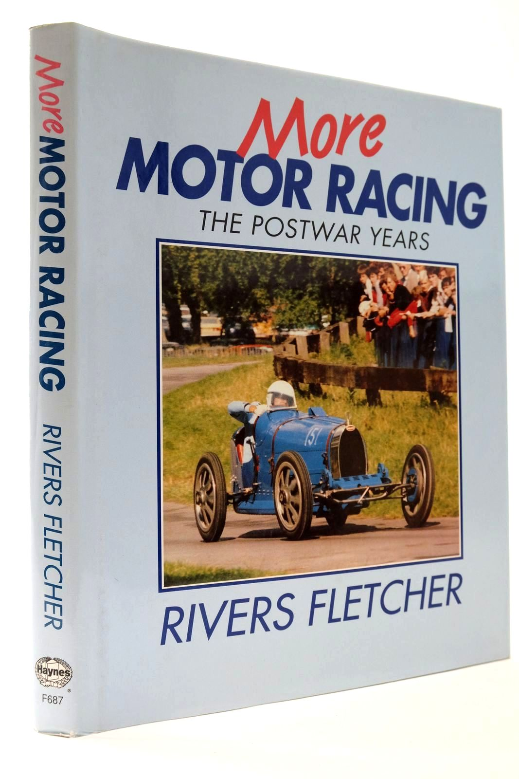 Photo of MORE MOTOR RACING THE POSTWAR YEARS written by Fletcher, Rivers published by Haynes Publishing Group (STOCK CODE: 2133459)  for sale by Stella & Rose's Books