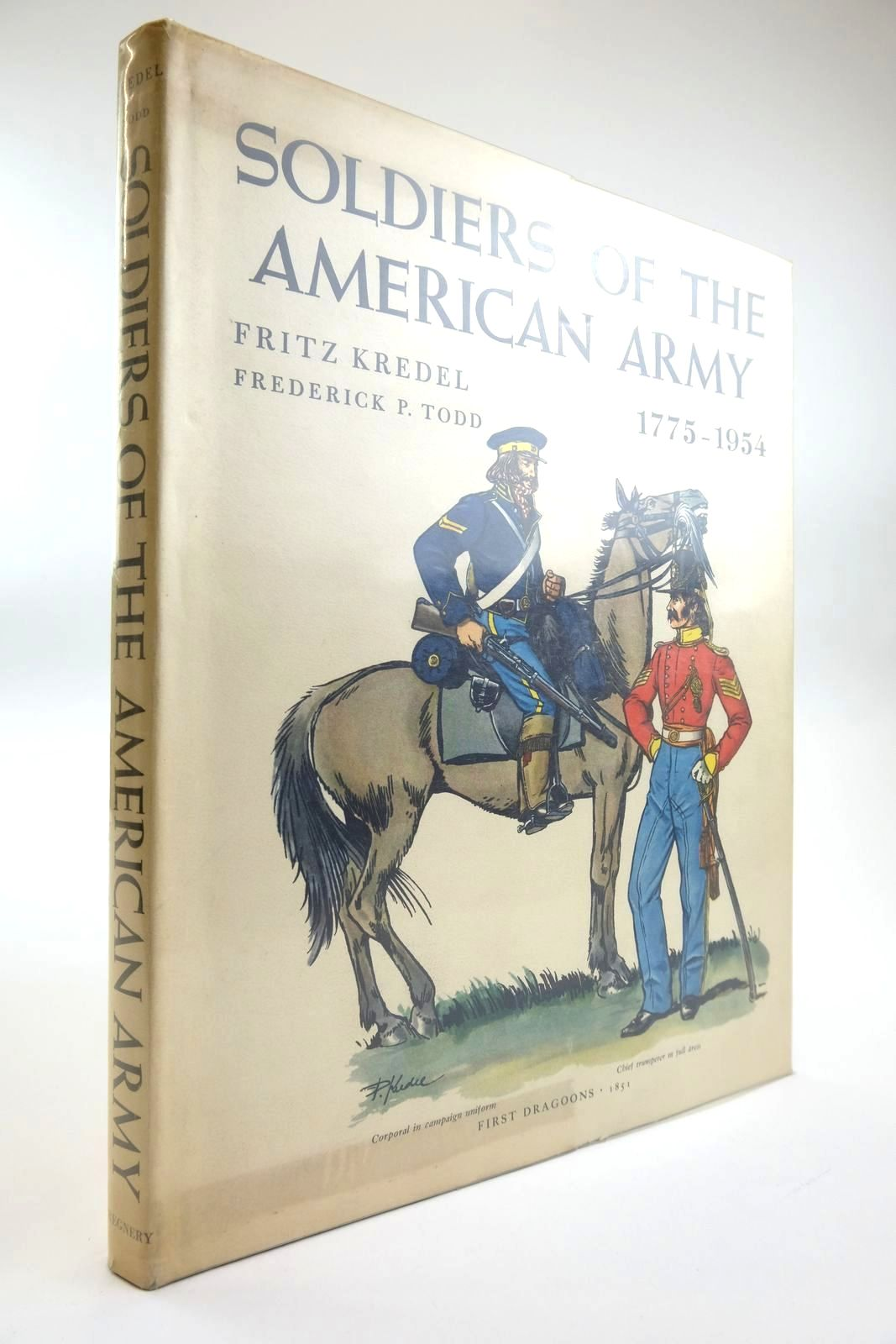 Photo of SOLDIERS OF THE AMERICAN ARMY 1775 - 1954 written by Kredel, Fritz Todd, Frederick P. illustrated by Kredel, Fritz published by Henry Regnery Company (STOCK CODE: 2133478)  for sale by Stella & Rose's Books