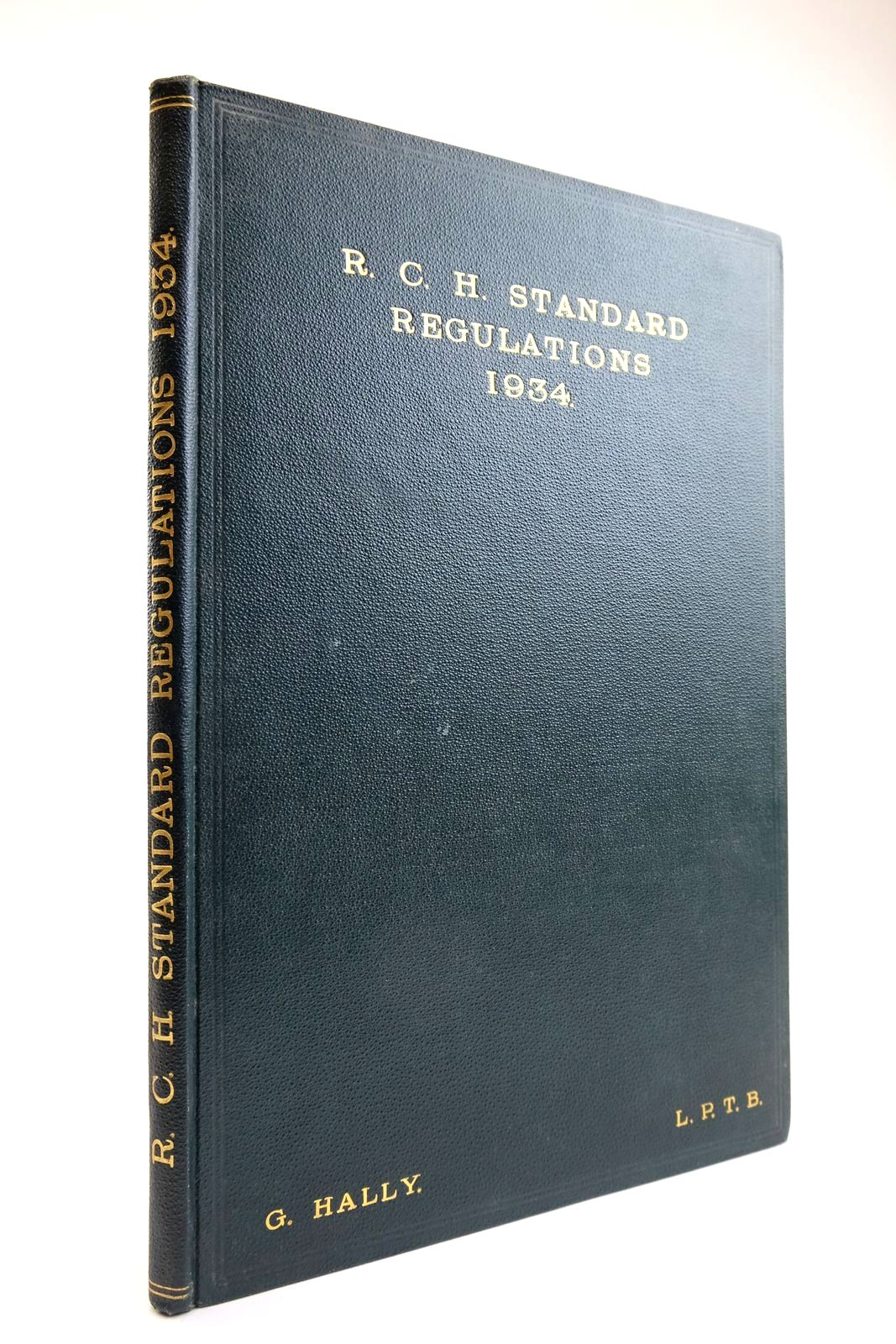 Photo of R.C.H. STANDARD REGULATIONS 1934- Stock Number: 2133479