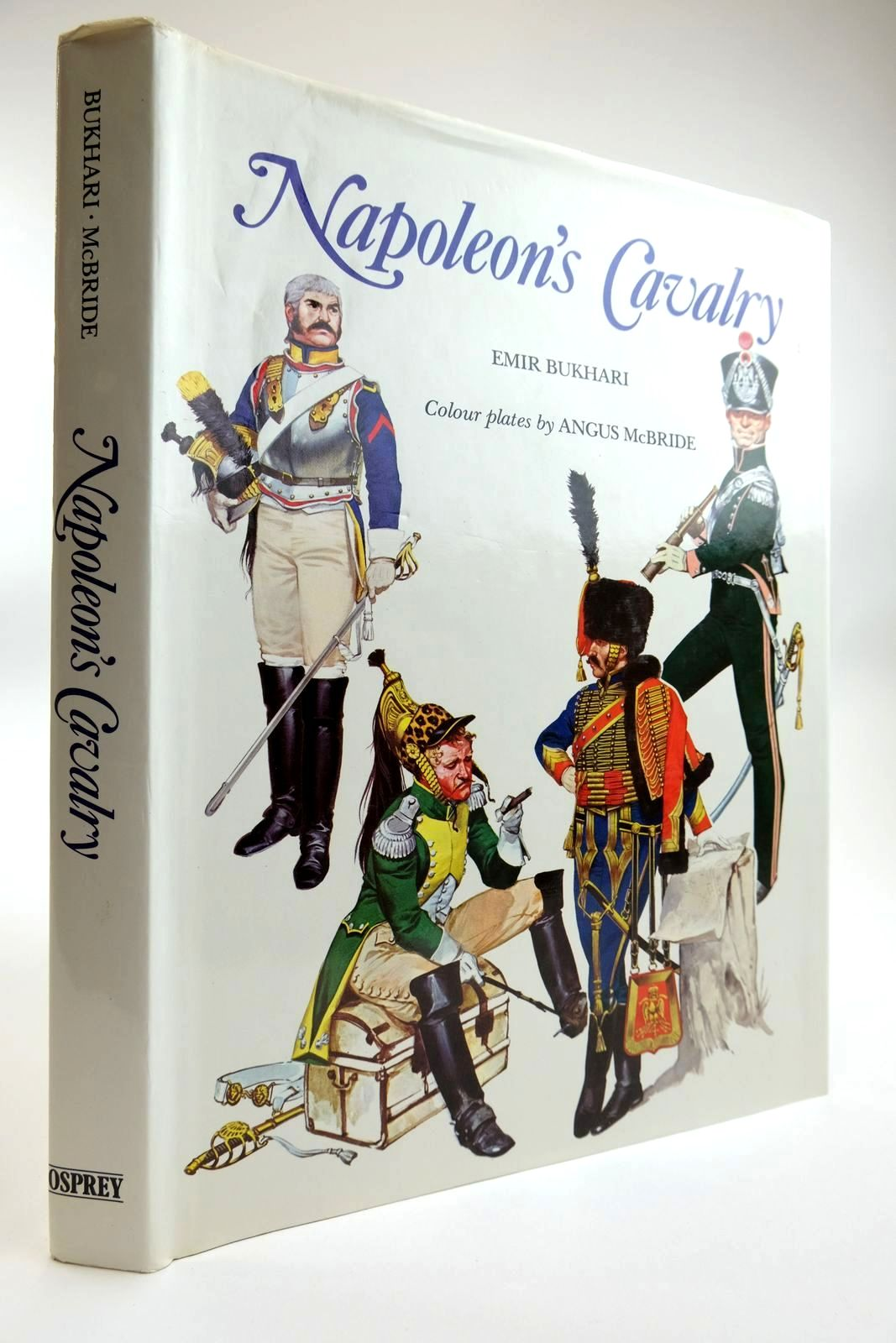 Photo of NAPOLEON'S CAVALRY written by Burkhari, Emir illustrated by McBride, Angus published by Osprey Publishing (STOCK CODE: 2133482)  for sale by Stella & Rose's Books
