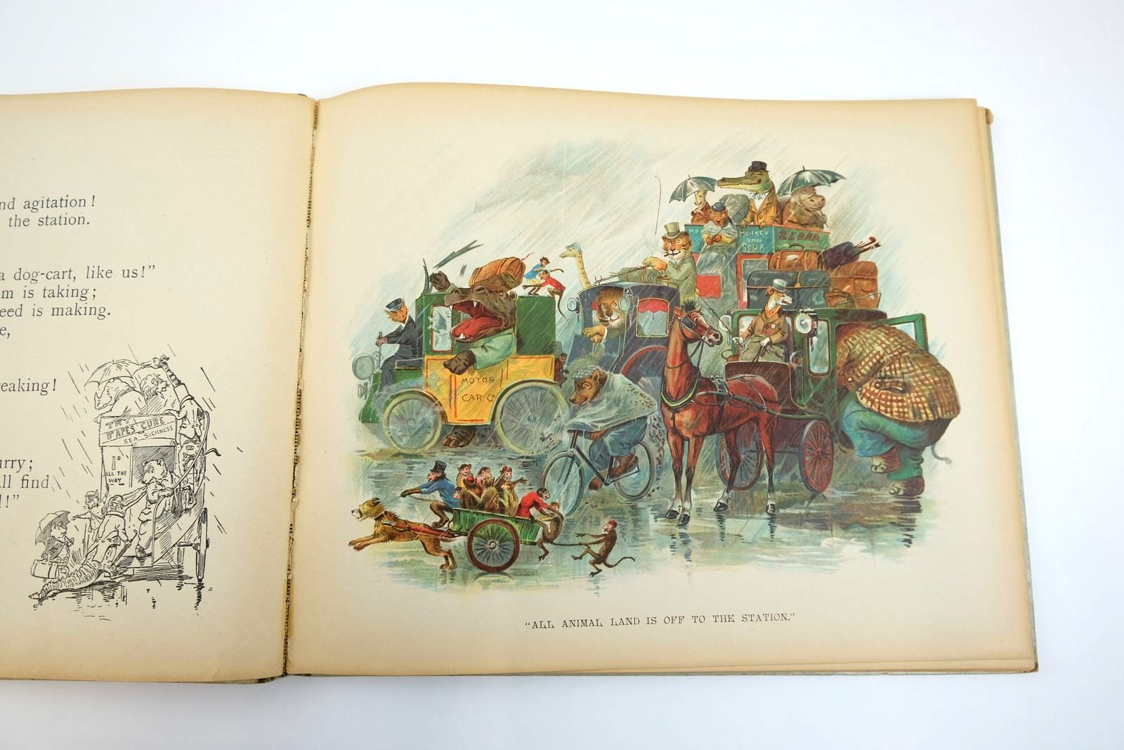 Photo of THE ANIMALS' TRIP TO SEA written by Bingham, Clifton illustrated by Thompson, G.H. published by Ernest Nister, E.P. Dutton & Co. (STOCK CODE: 2133487)  for sale by Stella & Rose's Books