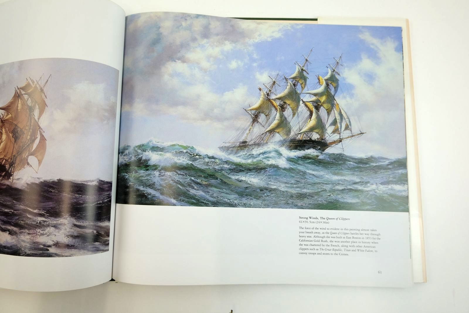 Photo of THE MARITIME PAINTINGS OF MONTAGUE DAWSON written by Ranson, Ron illustrated by Dawson, Montague published by David & Charles (STOCK CODE: 2133488)  for sale by Stella & Rose's Books