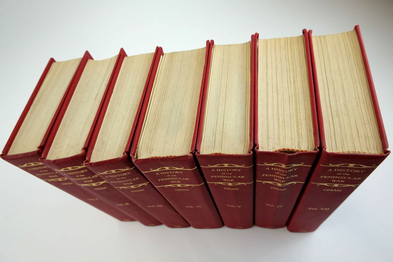 Photo of A HISTORY OF THE PENINSULAR WAR (7 VOLUMES) written by Oman, Sir Charles published by AMS Press (STOCK CODE: 2133489)  for sale by Stella & Rose's Books