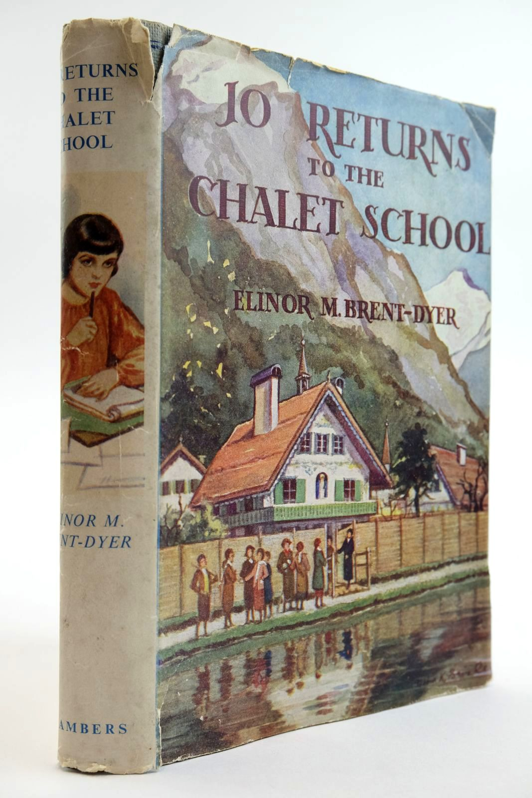 Photo of JO RETURNS TO THE CHALET SCHOOL written by Brent-Dyer, Elinor M. published by W. & R. Chambers Limited (STOCK CODE: 2133516)  for sale by Stella & Rose's Books