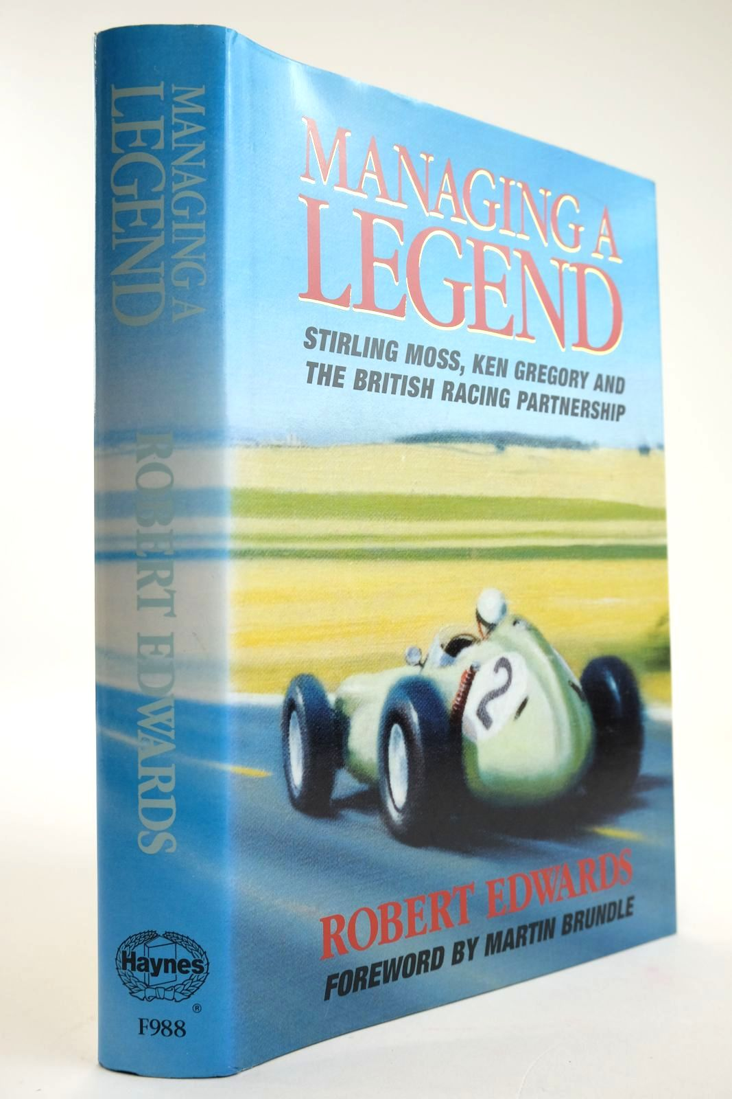Photo of MANAGING A LEGEND written by Edwards, Robert published by Foulis, Haynes Publishing Group (STOCK CODE: 2133534)  for sale by Stella & Rose's Books