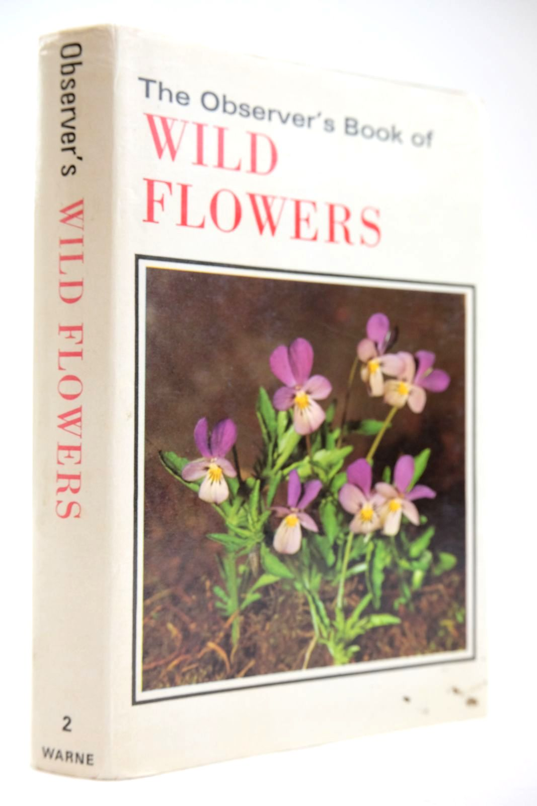 Photo of THE OBSERVER'S BOOK OF WILD FLOWERS- Stock Number: 2133543