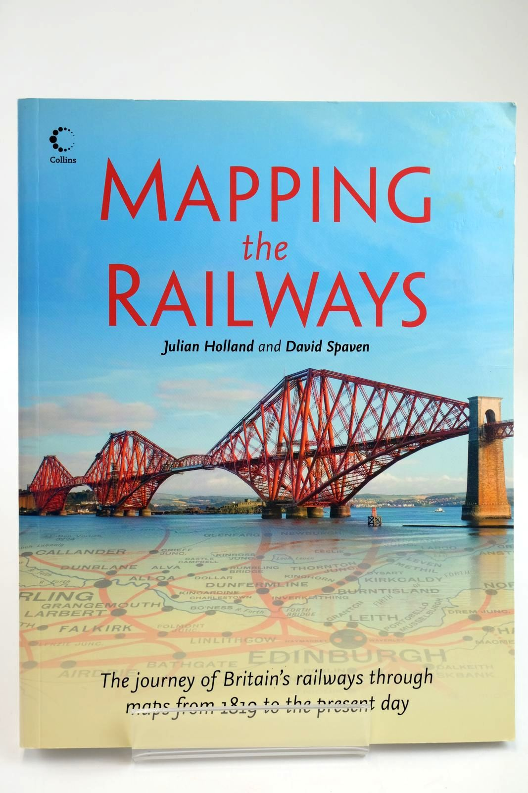 Photo of MAPPING THE RAILWAYS written by Holland, Julian