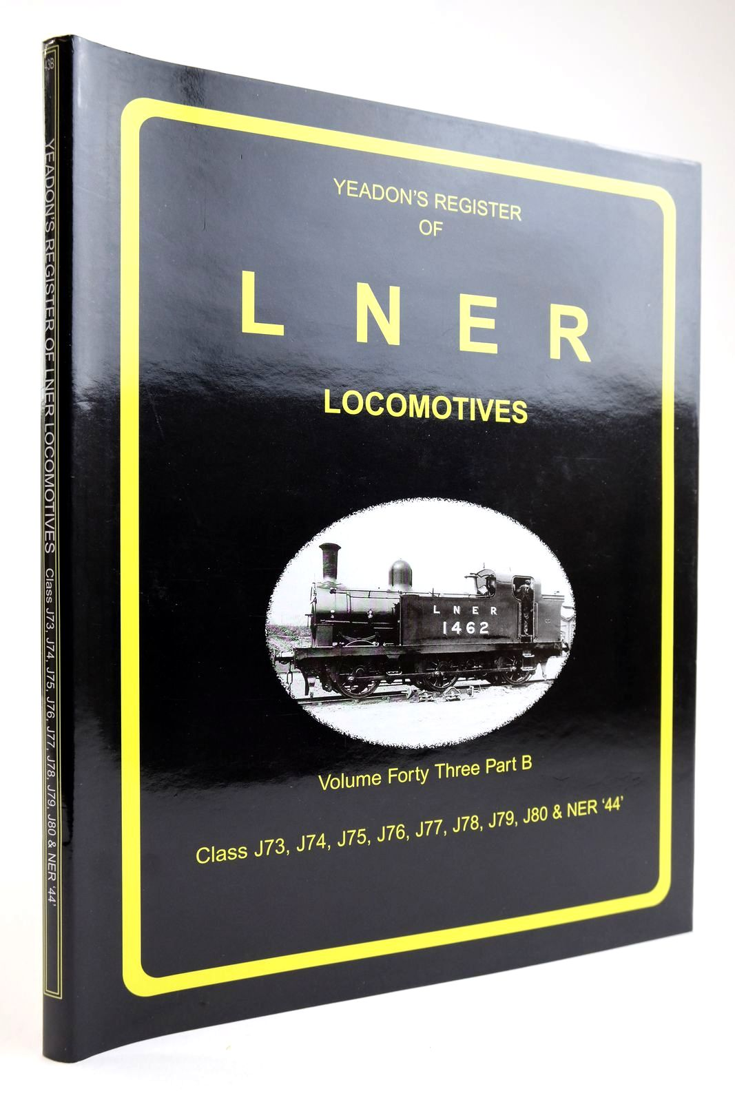 Photo of YEADON'S REGISTER OF LNER LOCOMOTIVES VOLUME FORTY THREE PART B- Stock Number: 2133578