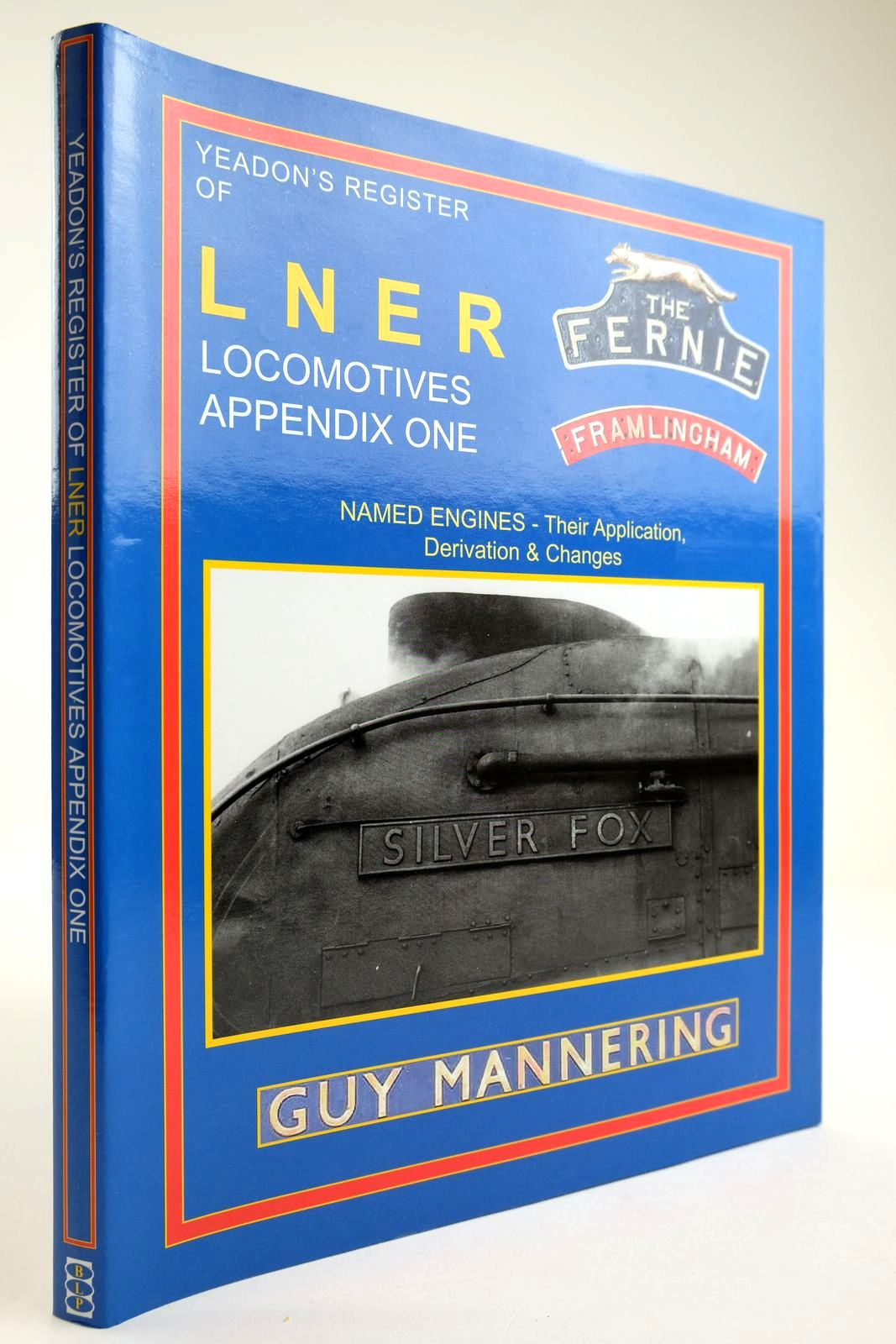 Photo of YEADONS REGISTER OF LNER LOCOMOTIVES APPENDIX ONE- Stock Number: 2133579