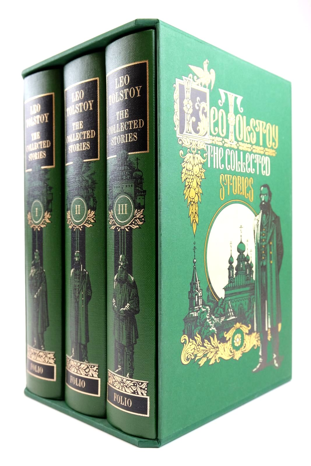 Photo of THE COLLECTED STORIES (3 VOLUMES)- Stock Number: 2133589