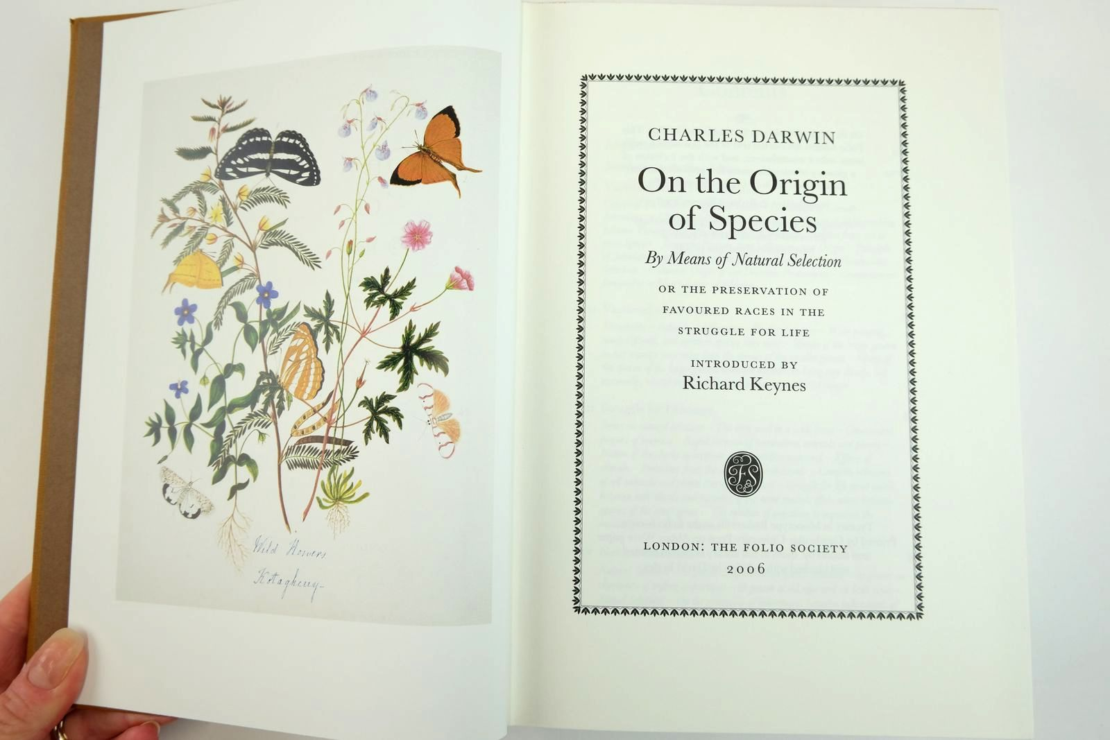 Photo of ON THE ORIGIN OF SPECIES BY MEANS OF NATURAL SELECTION written by Darwin, Charles