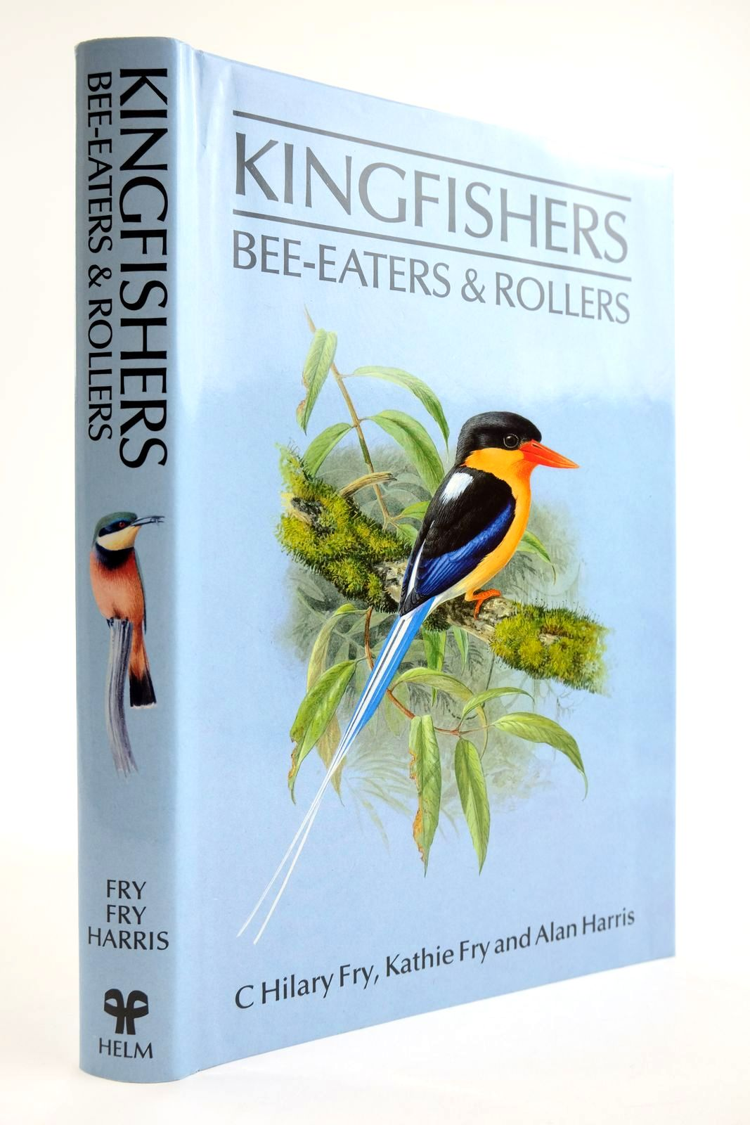 Photo of KINGFISHERS BEE-EATERS & ROLLERS written by Fry, C. Hilary