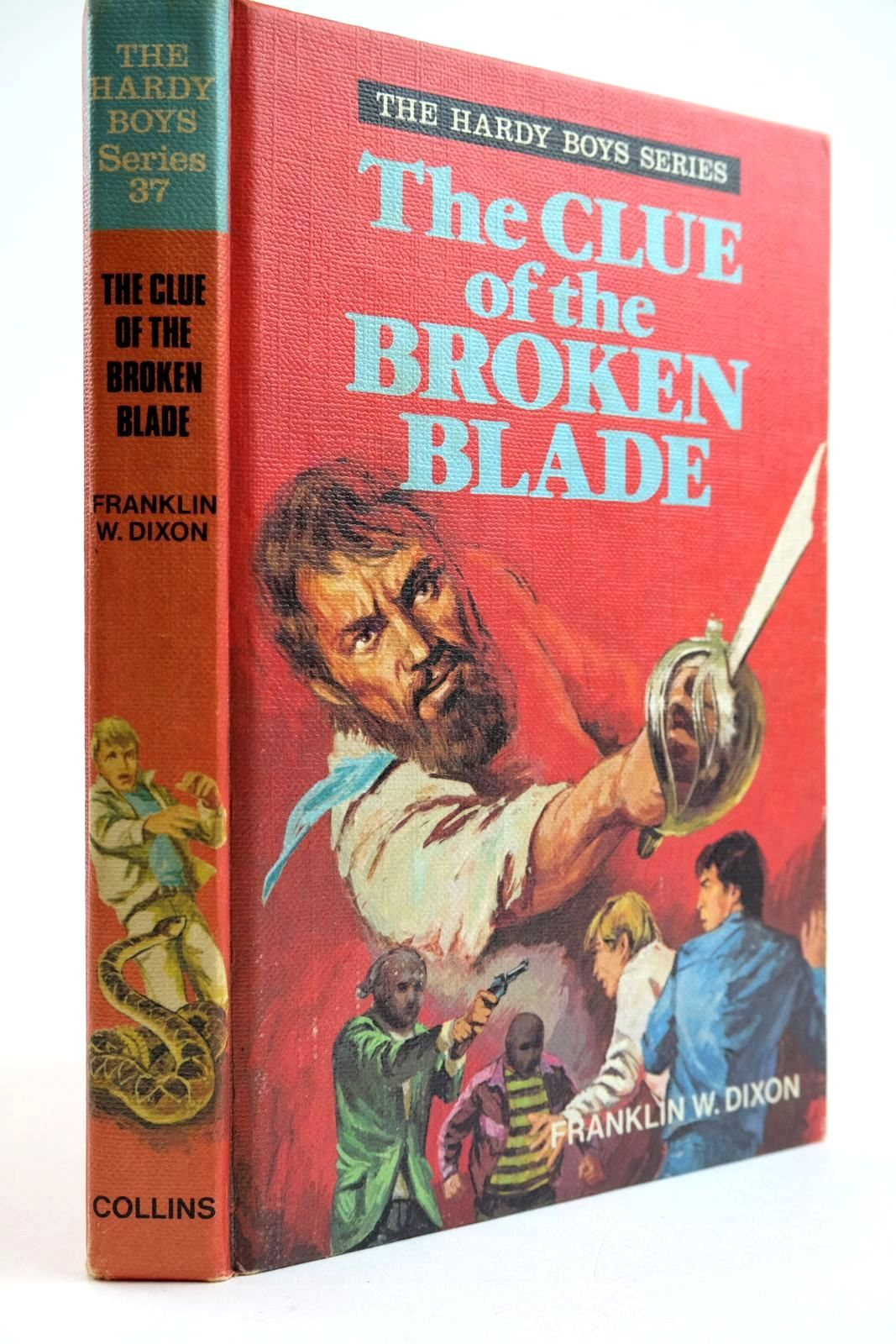 Photo of THE CLUE OF THE BROKEN BLADE