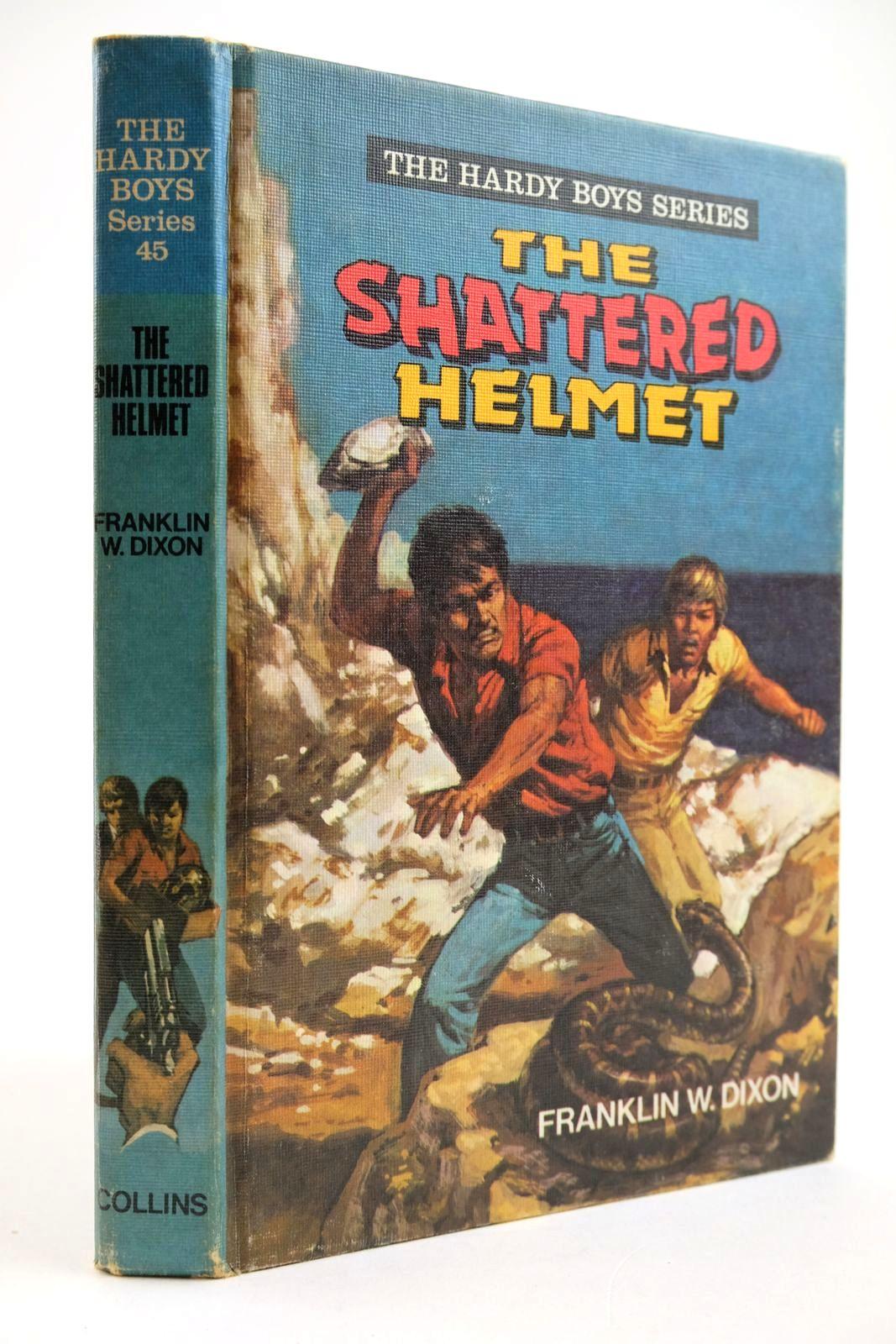 Photo of THE SHATTERED HELMET