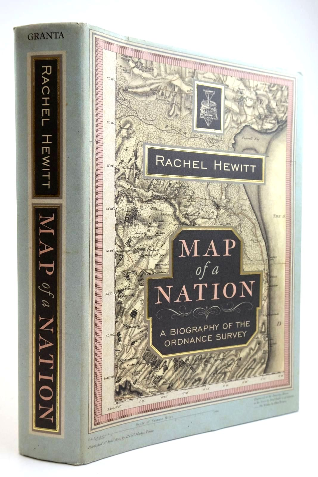 Photo of MAP OF A NATION: A BIOGRAPHY OF THE ORDNANCE SURVEY written by Hewitt, Rachel published by Granta (STOCK CODE: 2133693)  for sale by Stella & Rose's Books