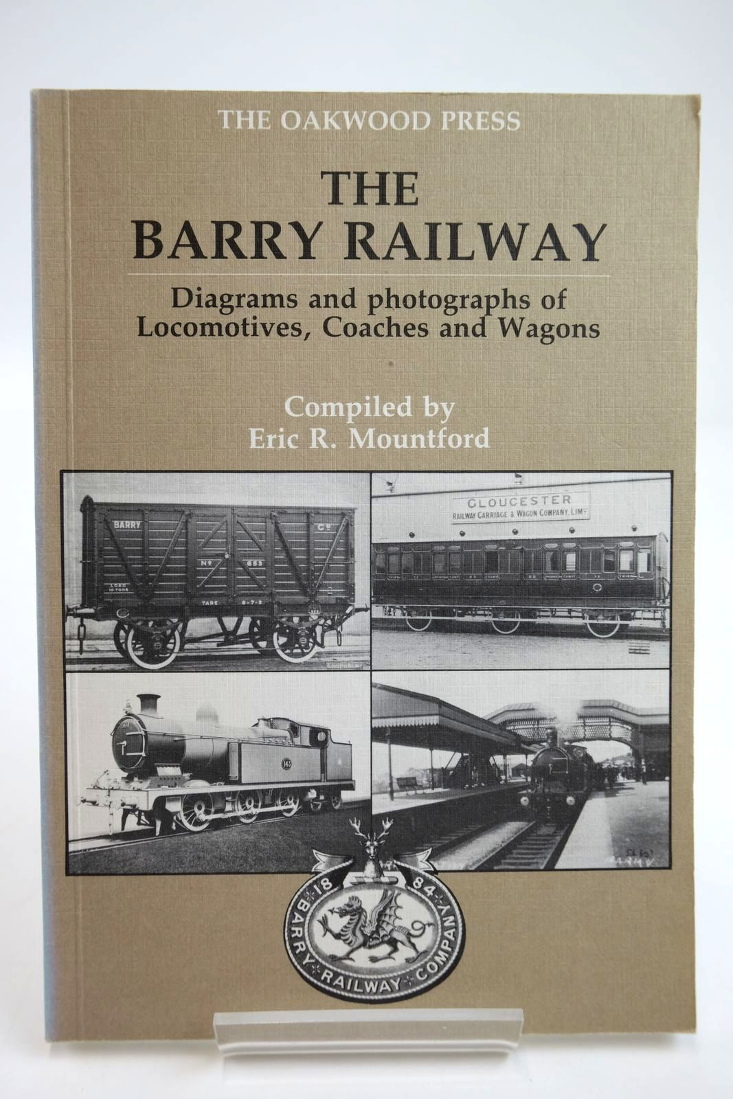 Photo of THE BARRY RAILWAY written by Mountford, Eric R. published by The Oakwood Press (STOCK CODE: 2133731)  for sale by Stella & Rose's Books