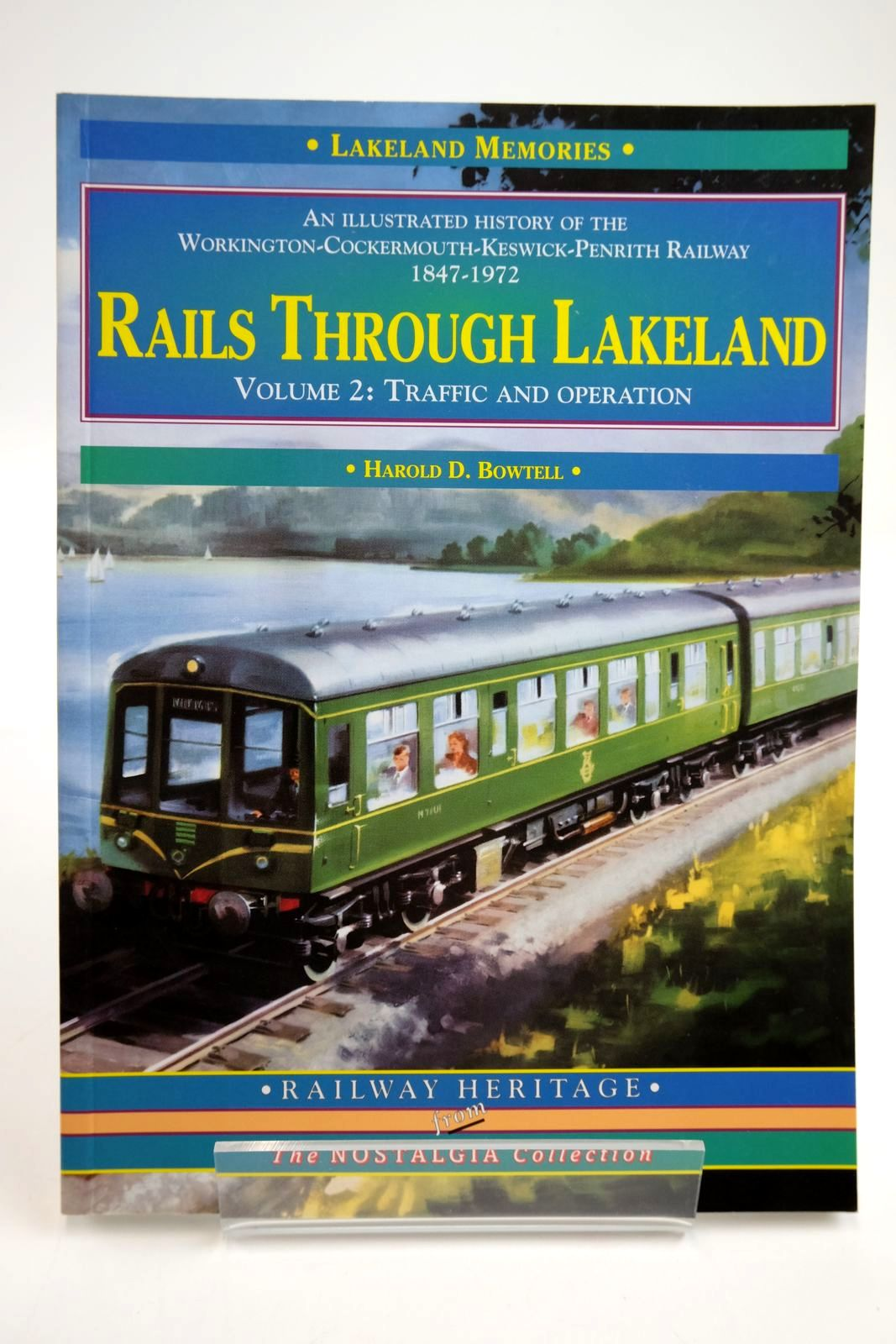 Photo of RAILS THROUGH LAKELAND VOLUME 2: TRAFFIC AND OPERATION written by Bowtell, Harold D. published by Silver Link Publishing (STOCK CODE: 2133736)  for sale by Stella & Rose's Books