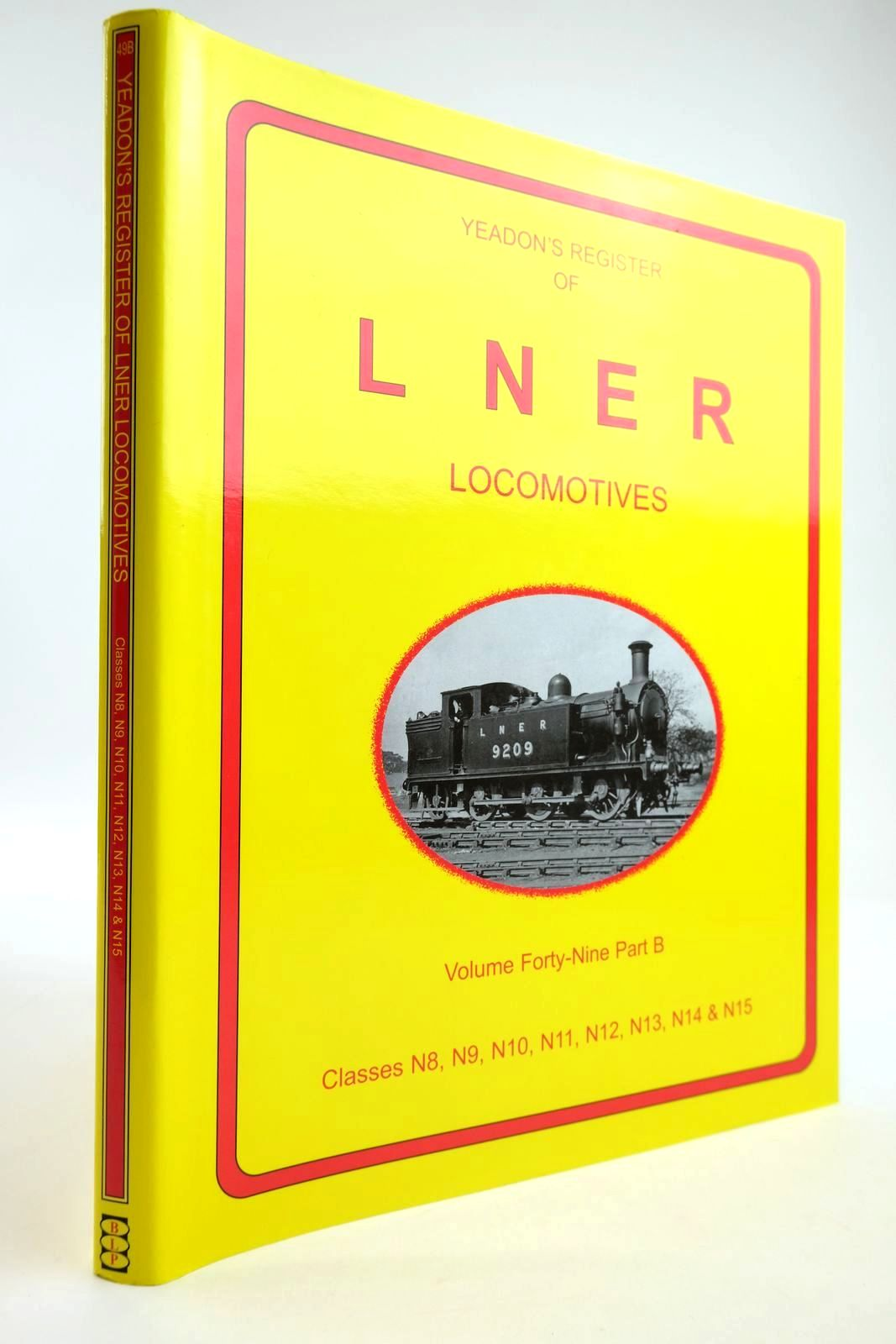 Photo of YEADON'S REGISTER OF LNER LOCOMOTIVES VOLUME FORTY NINE PART B- Stock Number: 2133791