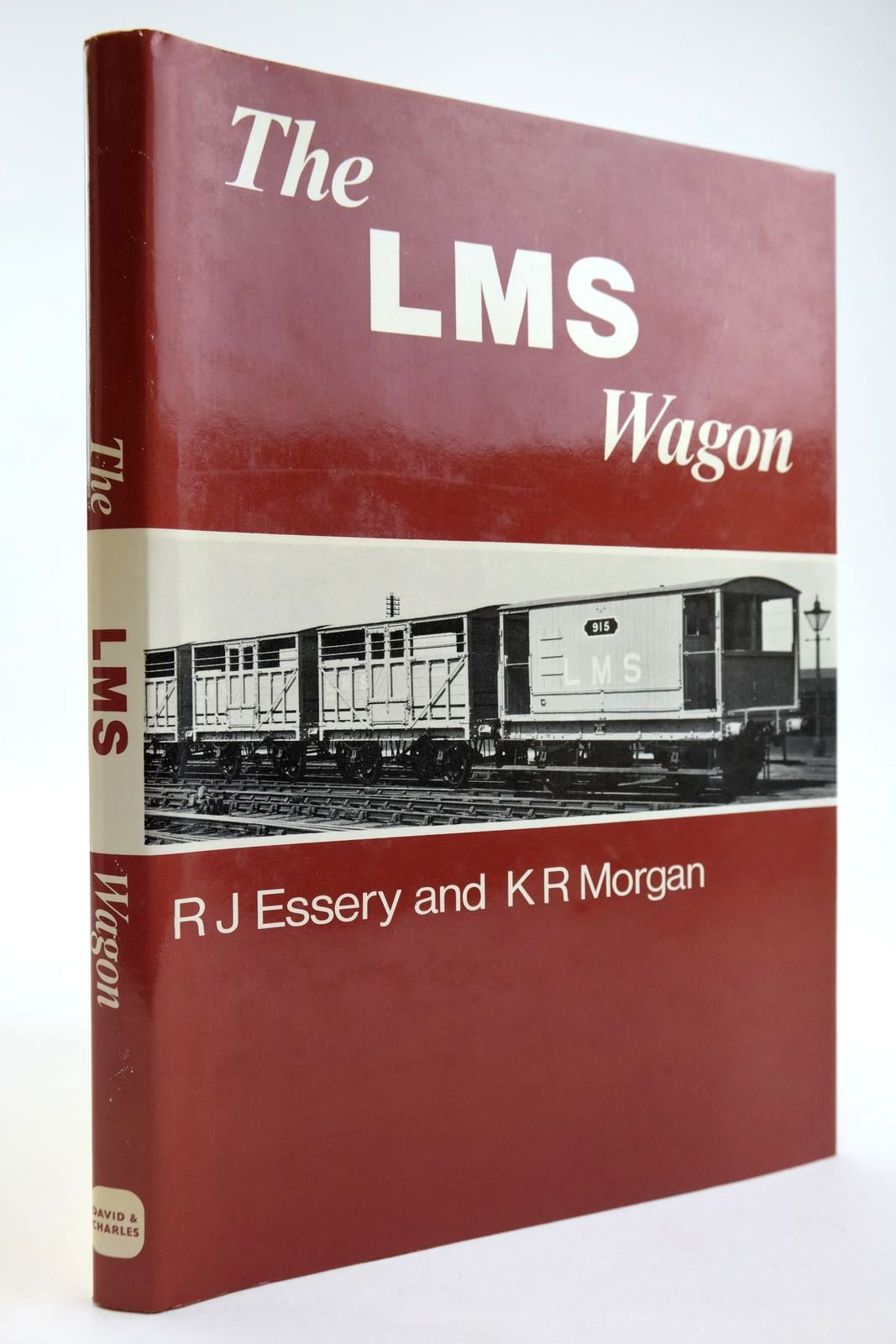 Photo of THE LMS WAGON written by Essery, R.J. Morgan, K.R. published by David & Charles (STOCK CODE: 2133806)  for sale by Stella & Rose's Books