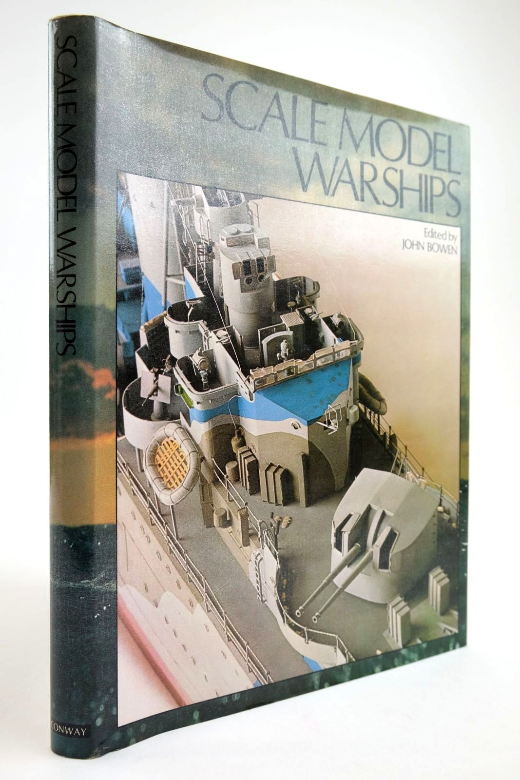 Photo of SCALE MODEL WARSHIPS written by Bowen, John published by Conway Maritime Press (STOCK CODE: 2133815)  for sale by Stella & Rose's Books
