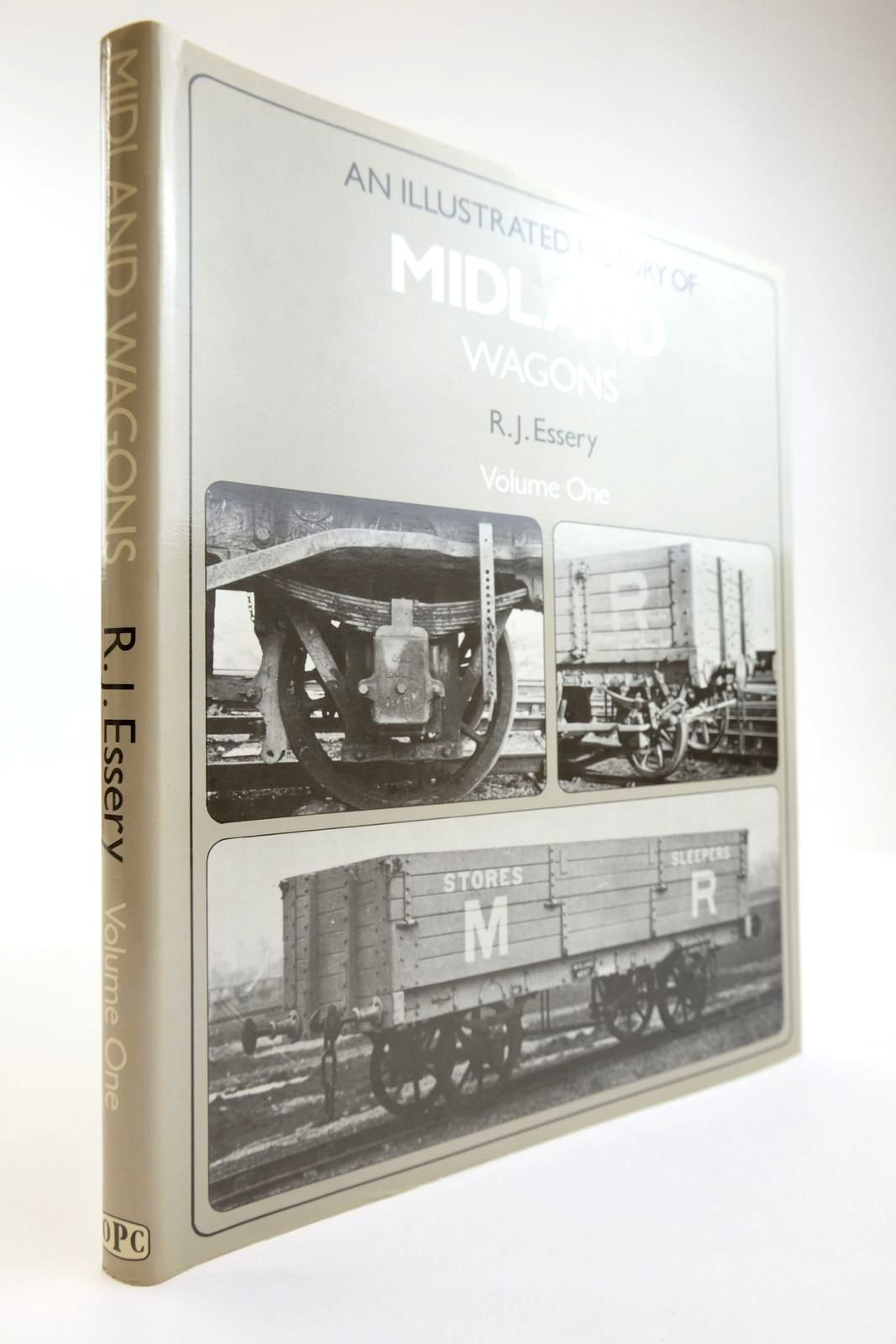 Photo of AN ILLUSTRATED HISTORY OF MIDLAND WAGONS VOLUME ONE written by Essery, R.J. published by Oxford Publishing Co (STOCK CODE: 2133828)  for sale by Stella & Rose's Books