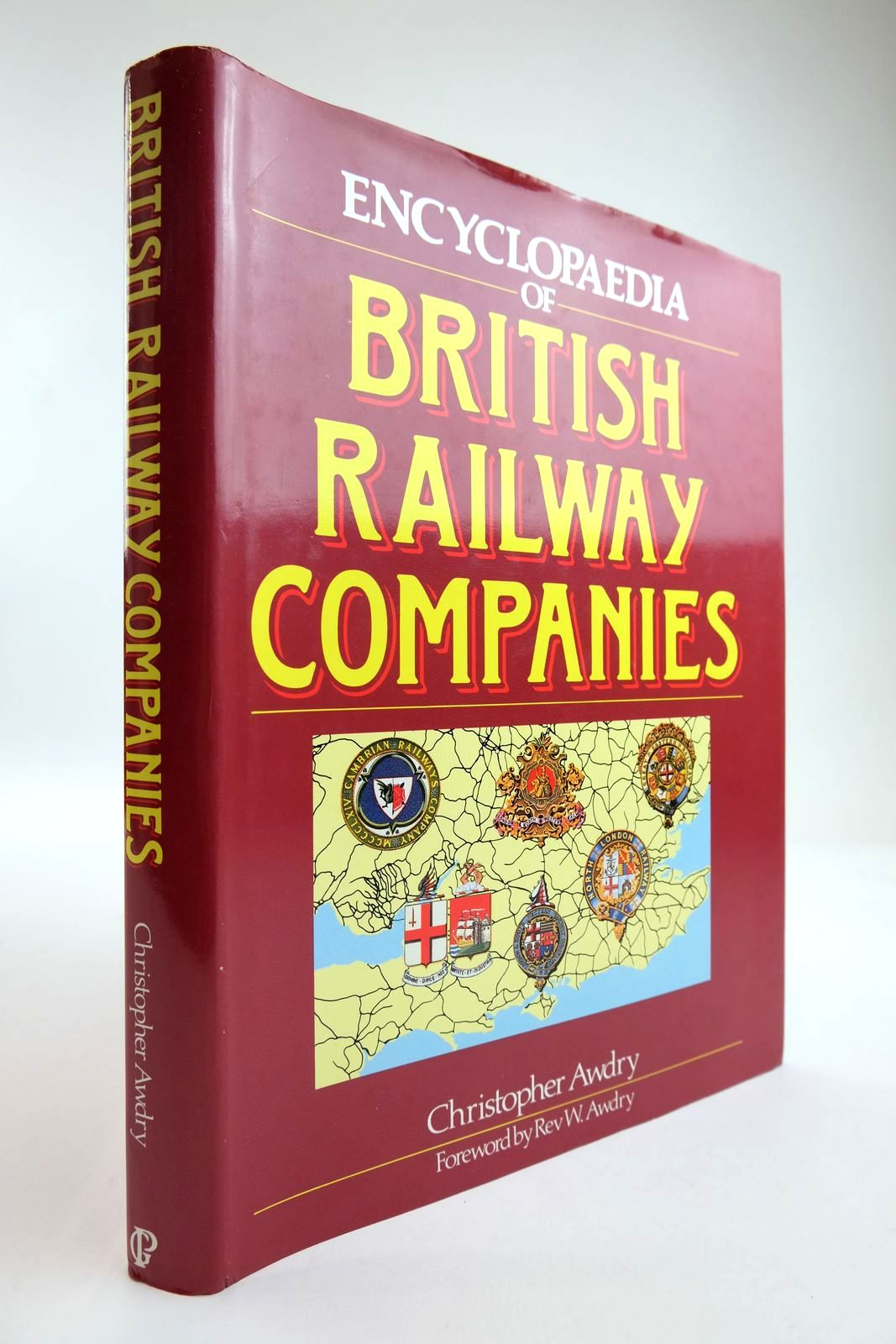 Photo of ENCYCLOPAEDIA OF BRITISH RAILWAY COMPANIES written by Awdry, Christopher Awdry, Rev. W. published by Guild Publishing (STOCK CODE: 2133846)  for sale by Stella & Rose's Books