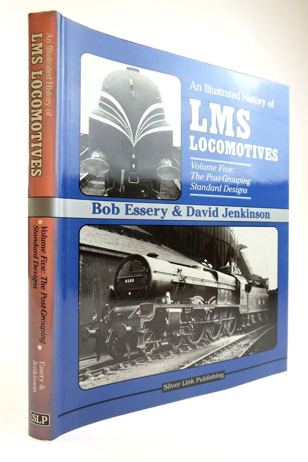 Photo of AN ILLUSTRATED HISTORY OF LMS LOCOMOTIVES VOLUME FIVE written by Essery, Bob Jenkinson, David published by Silver Link Publishing (STOCK CODE: 2133848)  for sale by Stella & Rose's Books