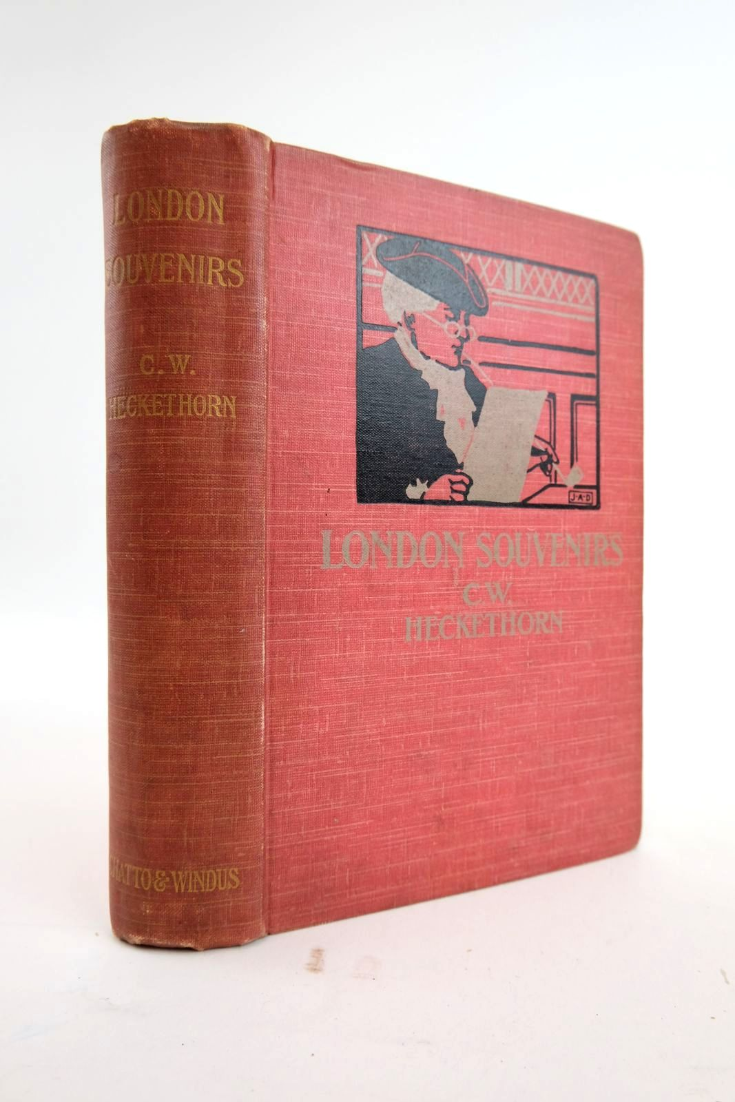 Photo of LONDON SOUVENIRS written by Heckethorn, Charles William published by Chatto & Windus (STOCK CODE: 2133857)  for sale by Stella & Rose's Books