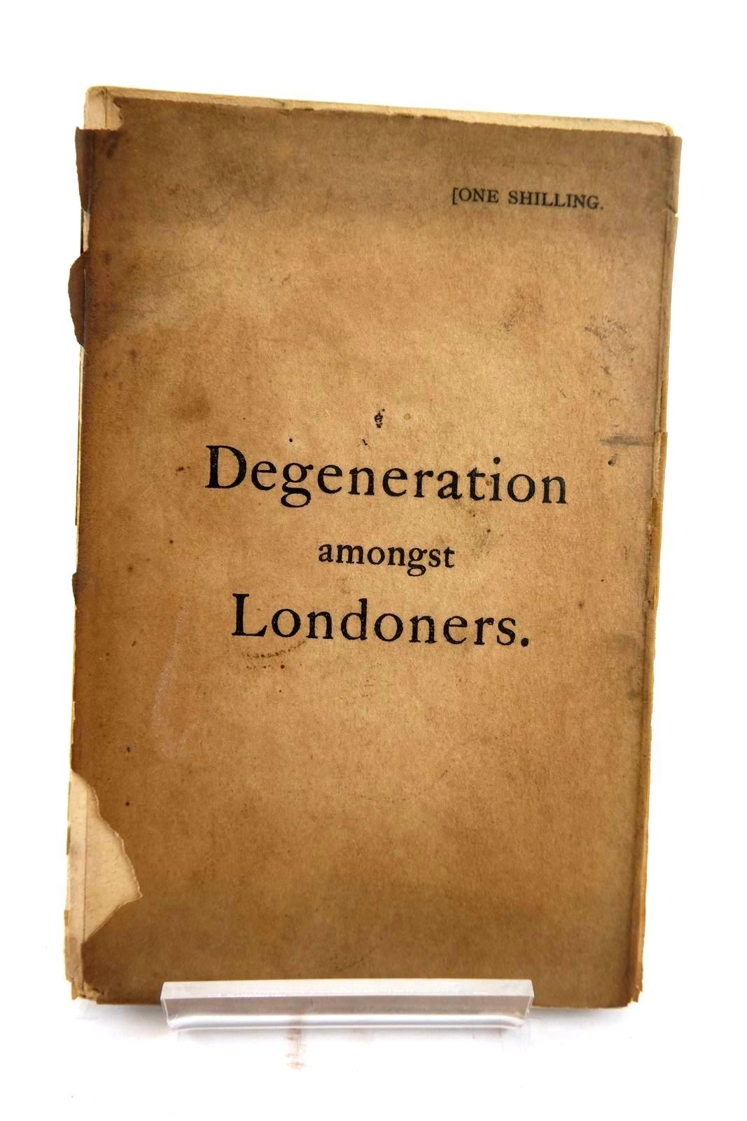 Photo of DEGENERATION AMONGST LONDONERS- Stock Number: 2133867