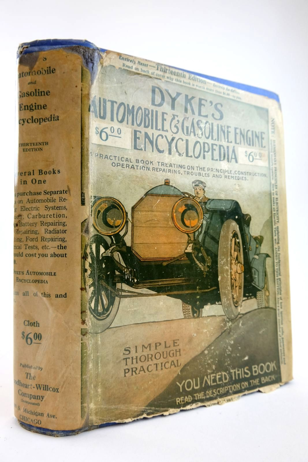Photo of DYKE'S AUTOMOBILE AND GASOLINE ENGINE ENCYCLOPEDIA- Stock Number: 2133871