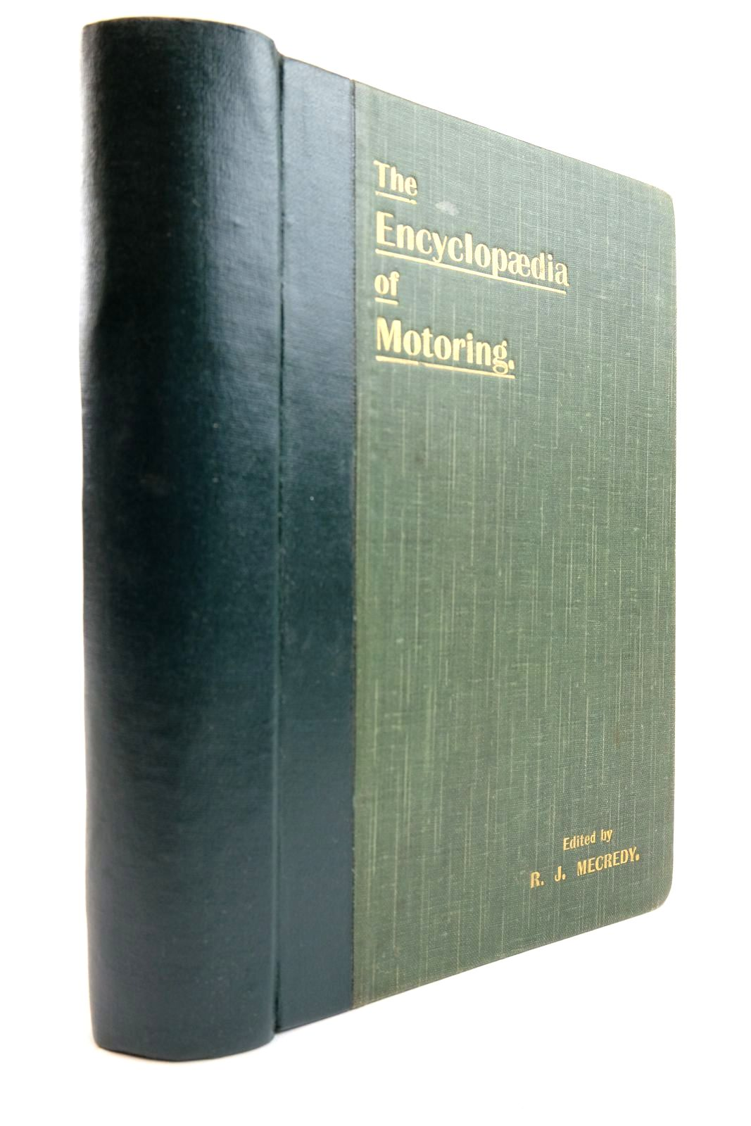 Photo of THE ENCYCLOPAEDIA OF MOTORING written by Mecredy, R.J. published by Mecredy, Percy & Co. Ltd. (STOCK CODE: 2133873)  for sale by Stella & Rose's Books