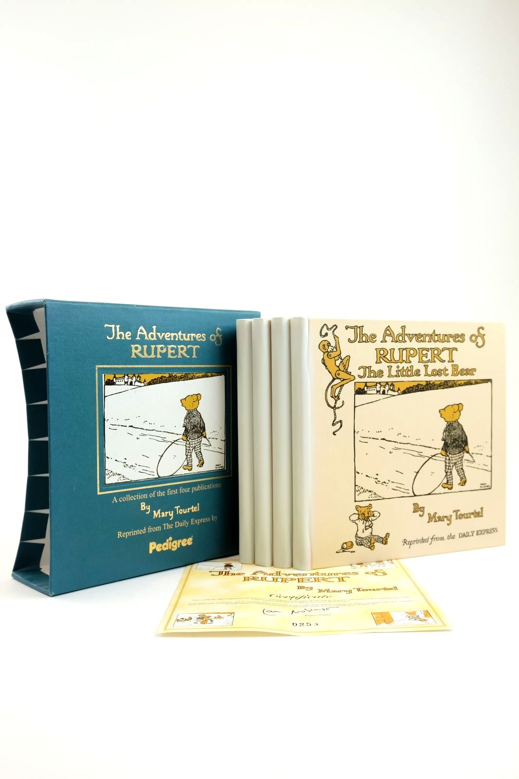 Photo of THE ADVENTURES OF RUPERT (4 VOLUMES)- Stock Number: 2133883