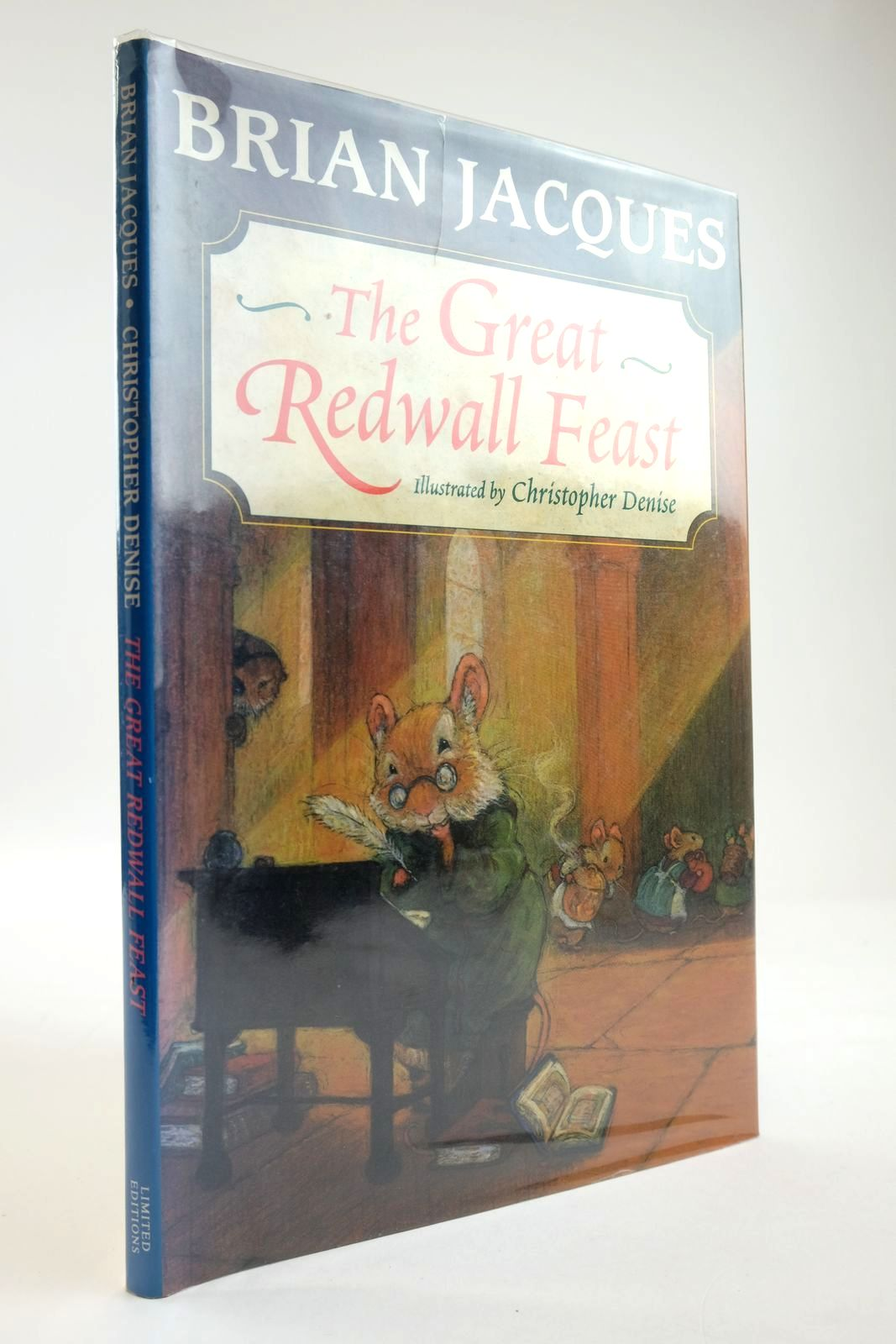 Photo of THE GREAT REDWALL FEAST written by Jacques, Brian illustrated by Denise, Christopher published by Limited Editions (STOCK CODE: 2133884)  for sale by Stella & Rose's Books