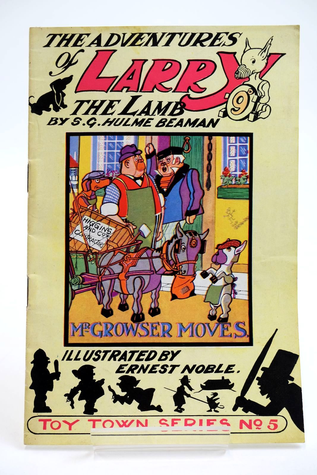 Photo of THE ADVENTURES OF LARRY THE LAMB - MR GROWSER MOVES written by Beaman, S.G. Hulme illustrated by Noble, Ernest published by George Lapworth & Co Ltd. (STOCK CODE: 2133902)  for sale by Stella & Rose's Books