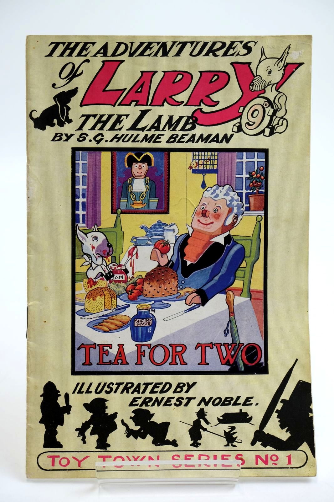 Photo of THE ADVENTURES OF LARRY THE LAMB - TEA FOR TWO written by Beaman, S.G. Hulme illustrated by Noble, Ernest published by George Lapworth & Co (STOCK CODE: 2133903)  for sale by Stella & Rose's Books