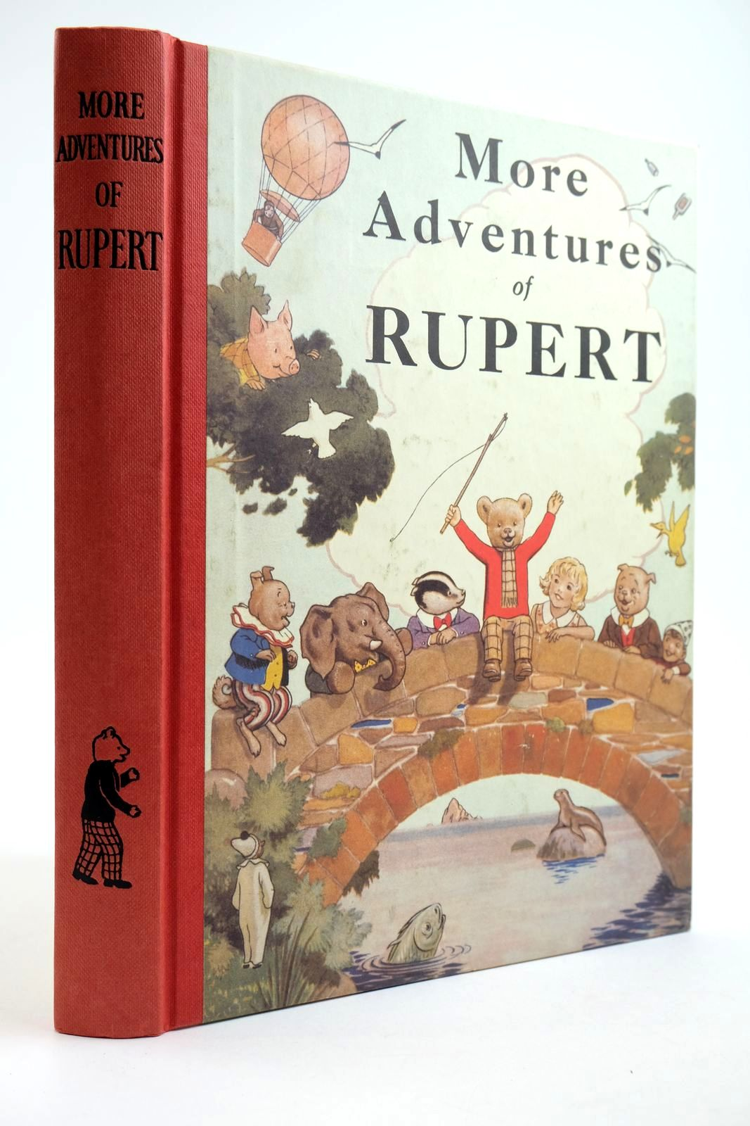 Photo of RUPERT ANNUAL 1937 (FACSIMILE) - MORE ADVENTURES OF RUPERT written by Bestall, Alfred illustrated by Bestall, Alfred published by Express Newspapers Ltd. (STOCK CODE: 2133910)  for sale by Stella & Rose's Books