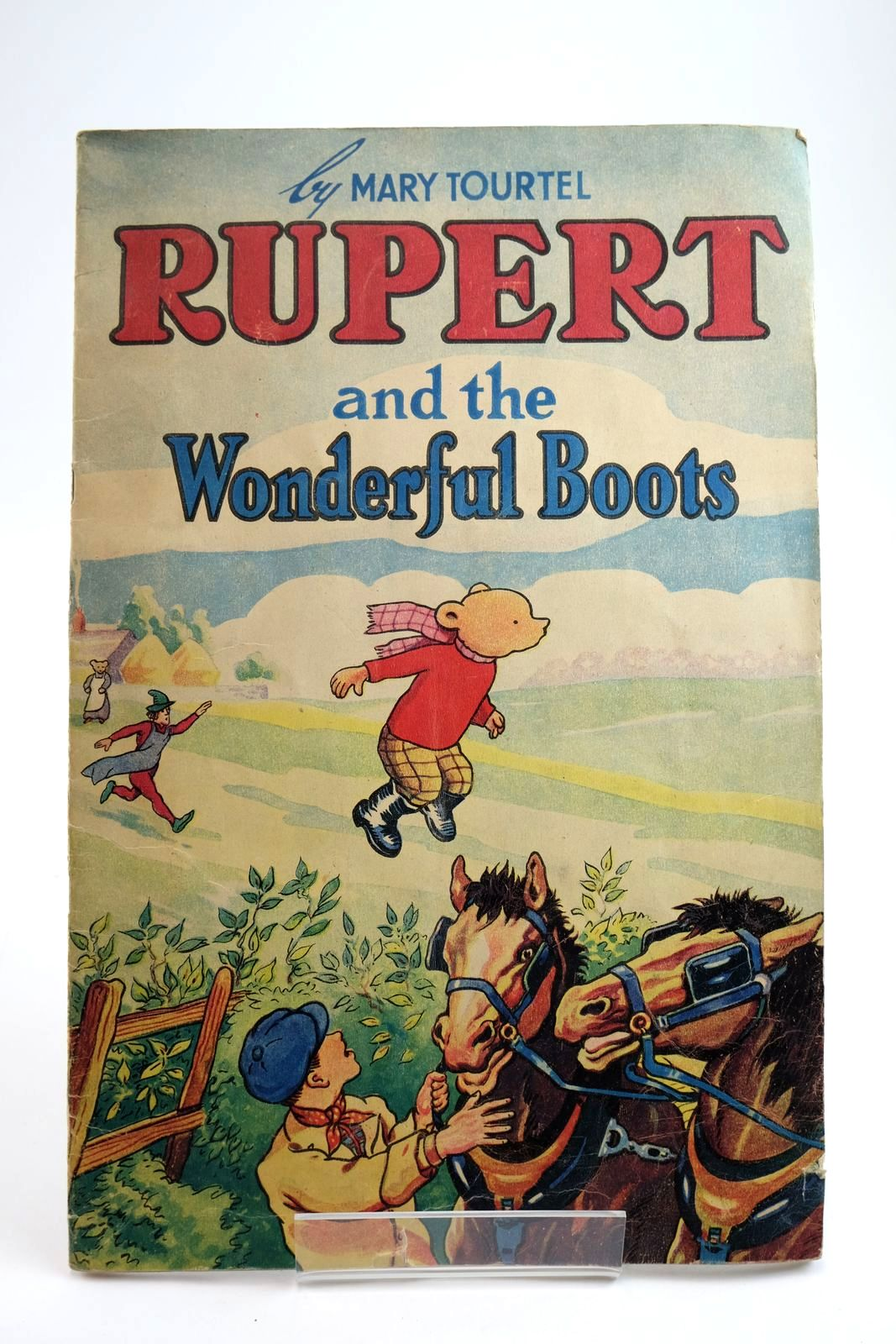 Photo of RUPERT AND THE WONDERFUL BOOTS- Stock Number: 2133911
