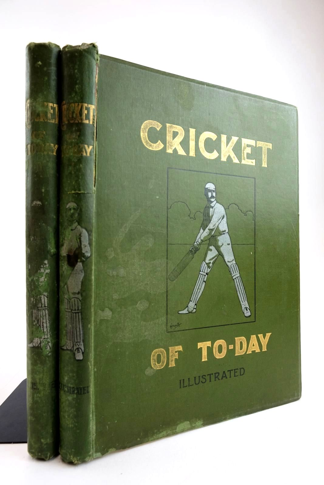 Photo of CRICKET OF TO-DAY AND YESTERDAY (2 VOLUMES)- Stock Number: 2133938