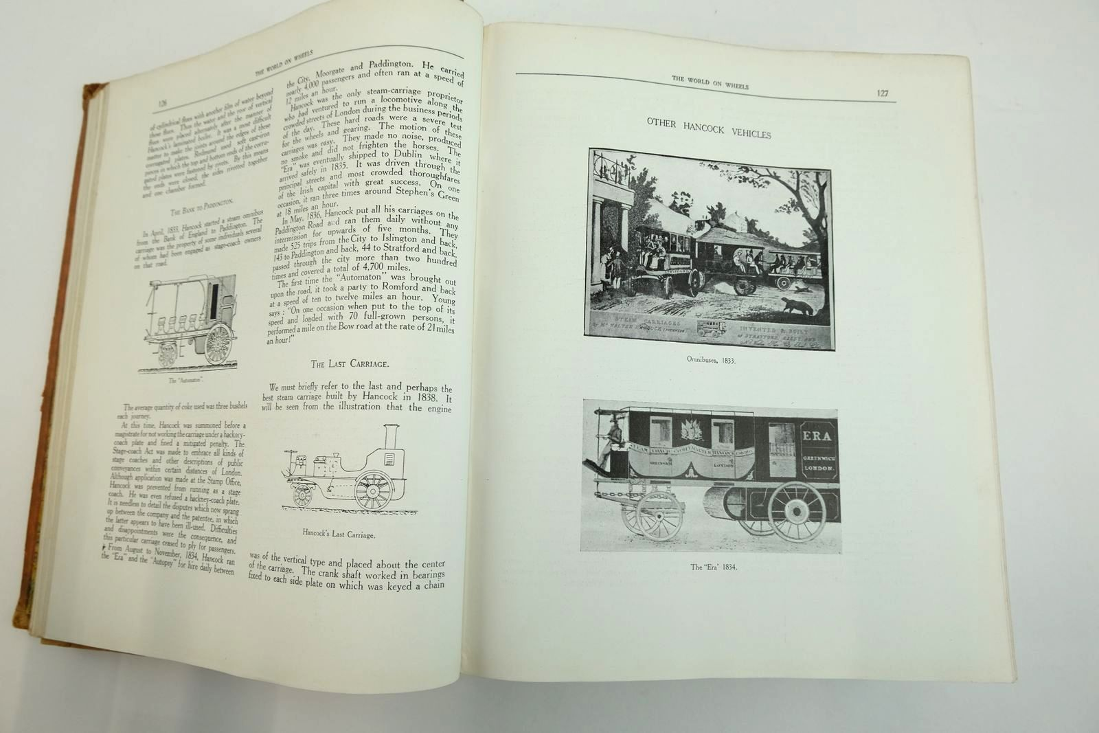 Photo of THE WORLD ON WHEELS written by Duncan, H.O. published by H.O. Duncan (STOCK CODE: 2133940)  for sale by Stella & Rose's Books
