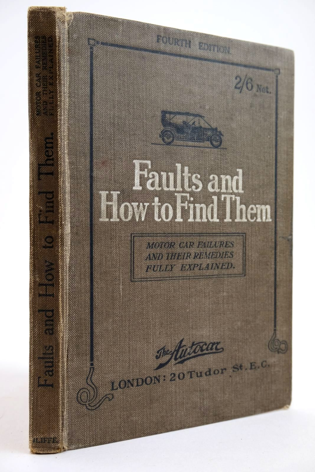 Photo of FAULTS AND HOW TO FIND THEM written by Bickford, J.S.V. published by Iliffe & Sons Limited (STOCK CODE: 2133948)  for sale by Stella & Rose's Books