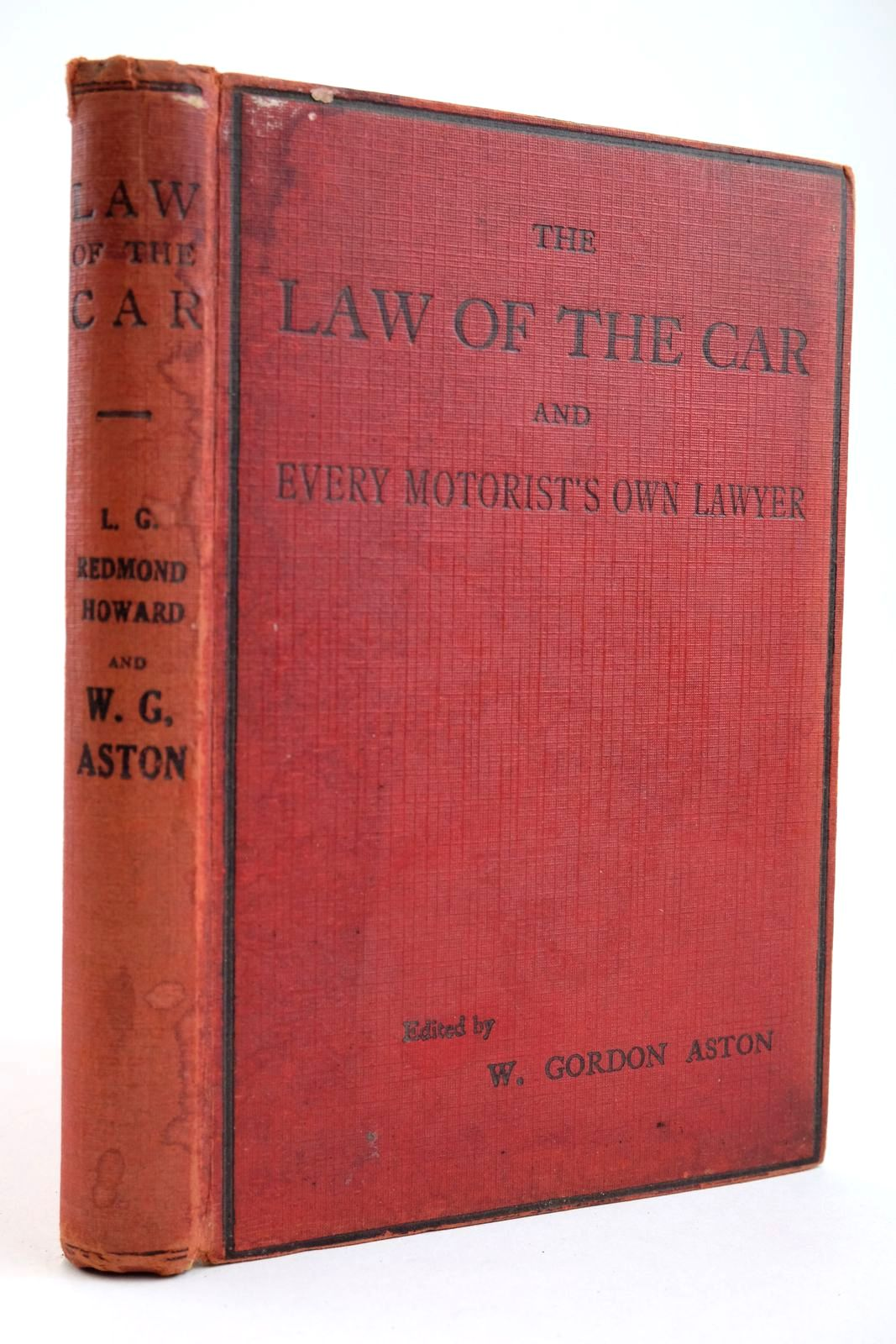 Photo of THE LAW OF THE CAR AND EVERY MOTORIST'S OWN LAWYER- Stock Number: 2133949