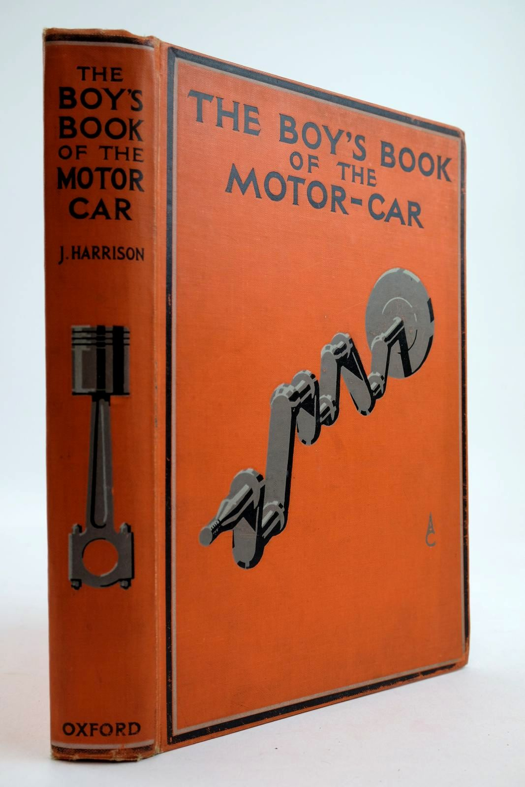 Photo of THE BOY'S BOOK OF THE MOTOR-CAR- Stock Number: 2133953