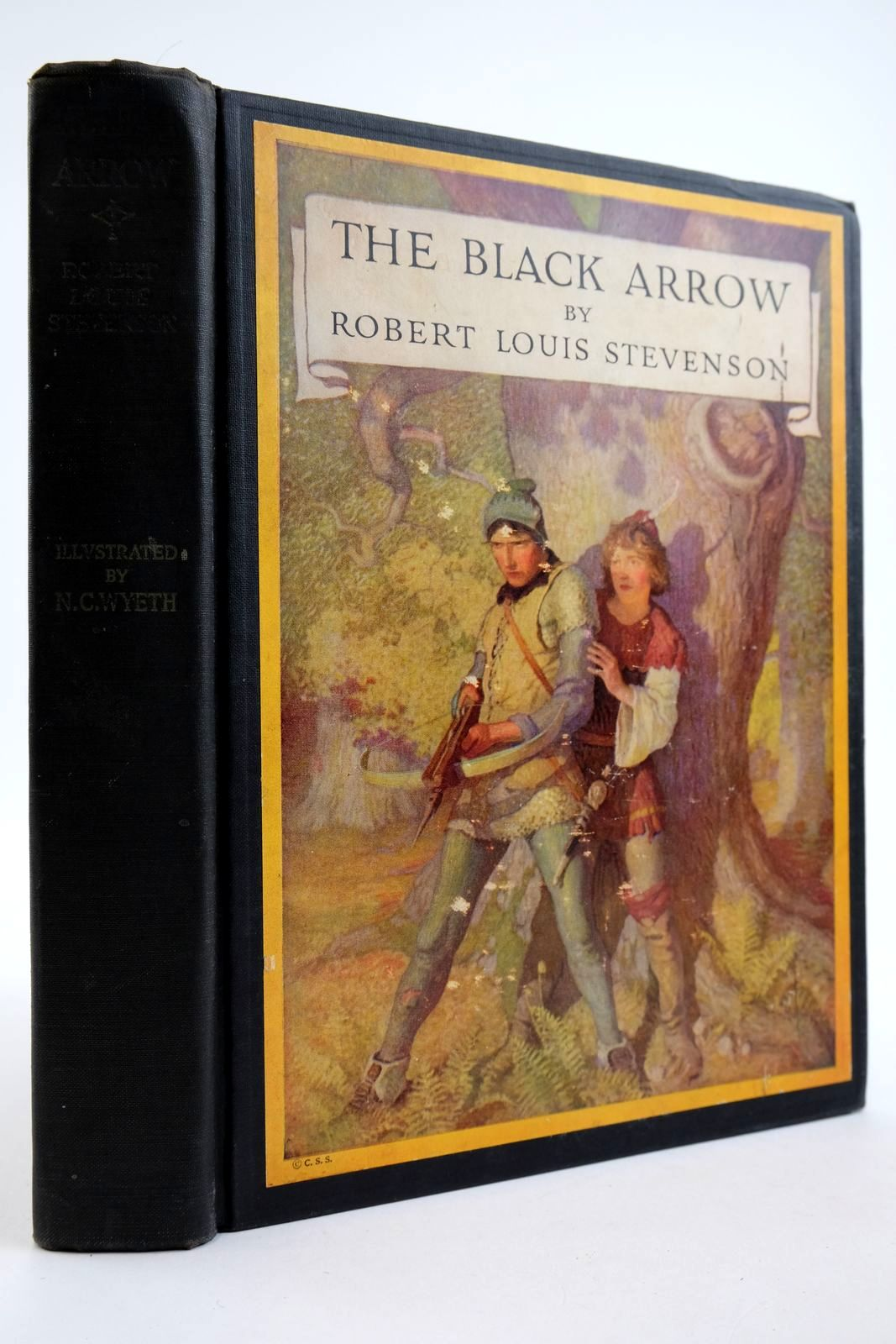 Photo of THE BLACK ARROW written by Stevenson, Robert Louis illustrated by Wyeth, N.C. published by Charles Scribner's Sons (STOCK CODE: 2133957)  for sale by Stella & Rose's Books