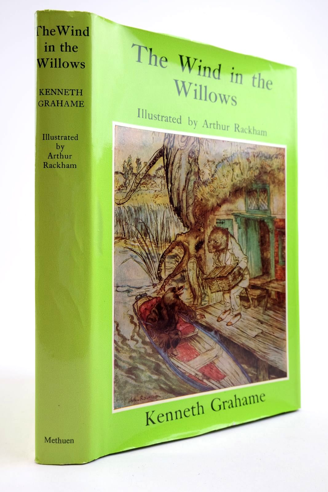 Photo of THE WIND IN THE WILLOWS written by Grahame, Kenneth illustrated by Rackham, Arthur published by Methuen Children's Books (STOCK CODE: 2133959)  for sale by Stella & Rose's Books