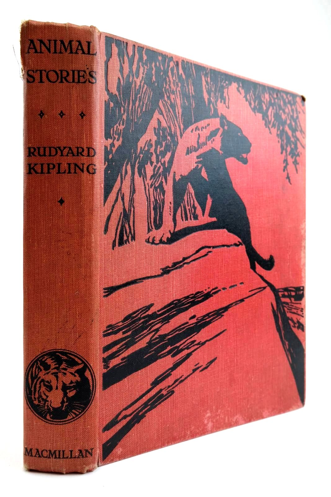 Photo of ANIMAL STORIES FROM RUDYARD KIPLING written by Kipling, Rudyard illustrated by Tresilian, Stuart published by Macmillan & Co. Ltd. (STOCK CODE: 2133972)  for sale by Stella & Rose's Books