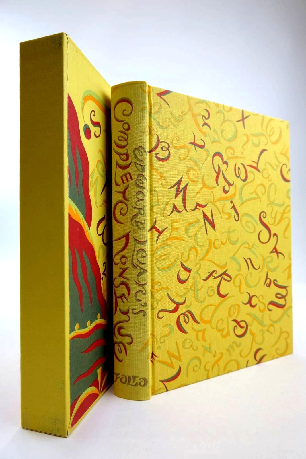 Photo of EDWARD LEAR'S COMPLETE NONSENSE written by Lear, Edward Blake, Quentin illustrated by Lear, Edward Beards, Richard published by Folio Society (STOCK CODE: 2133993)  for sale by Stella & Rose's Books