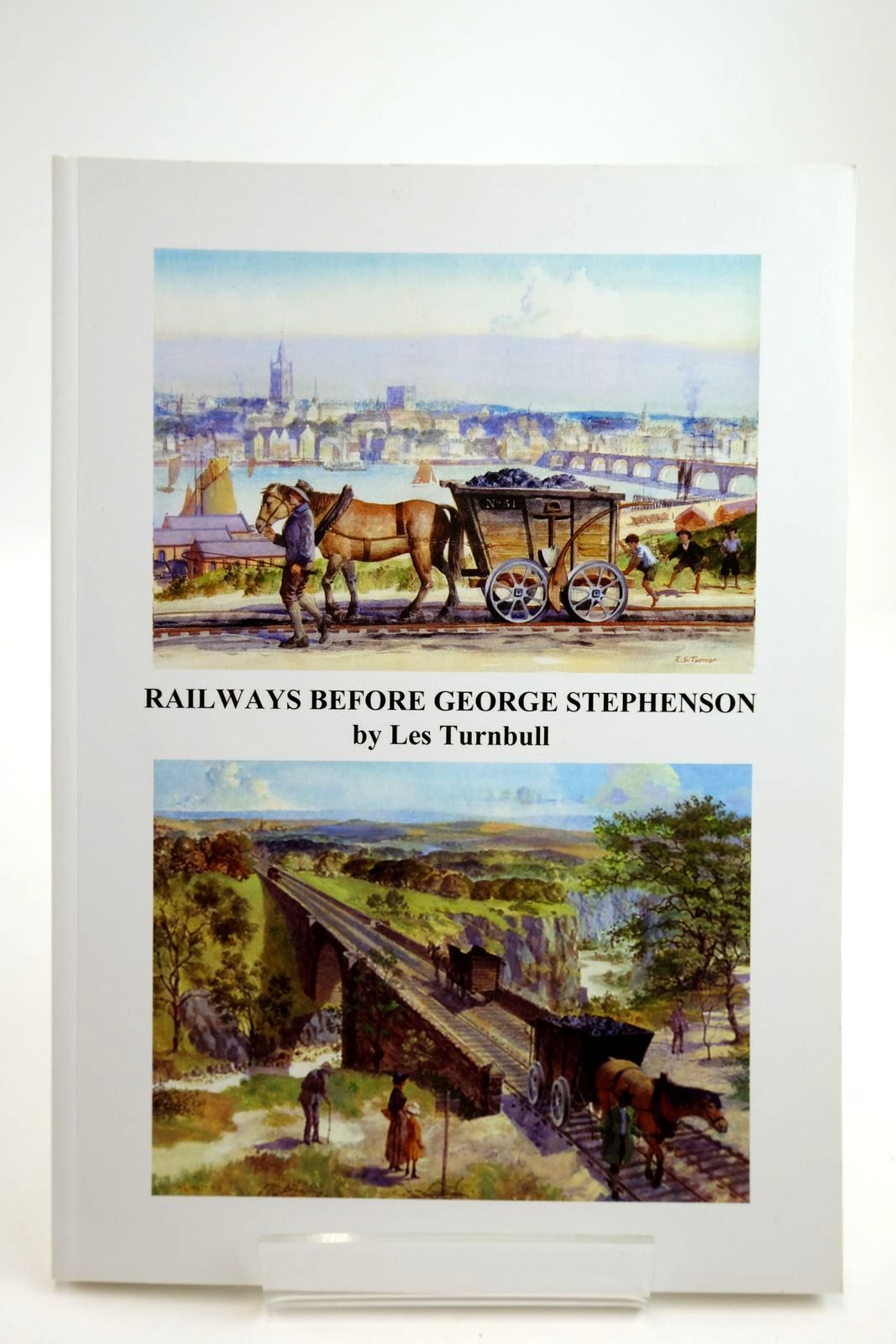 Photo of RAILWAYS BEFORE GEORGE STEPHENSON: A STUDY OF THE WAGGONWAYS IN THE GREAT NORTHERN COALFIELD 1605 - 1830 written by Turnbull, Les published by Chapman Research Publishing (STOCK CODE: 2134059)  for sale by Stella & Rose's Books