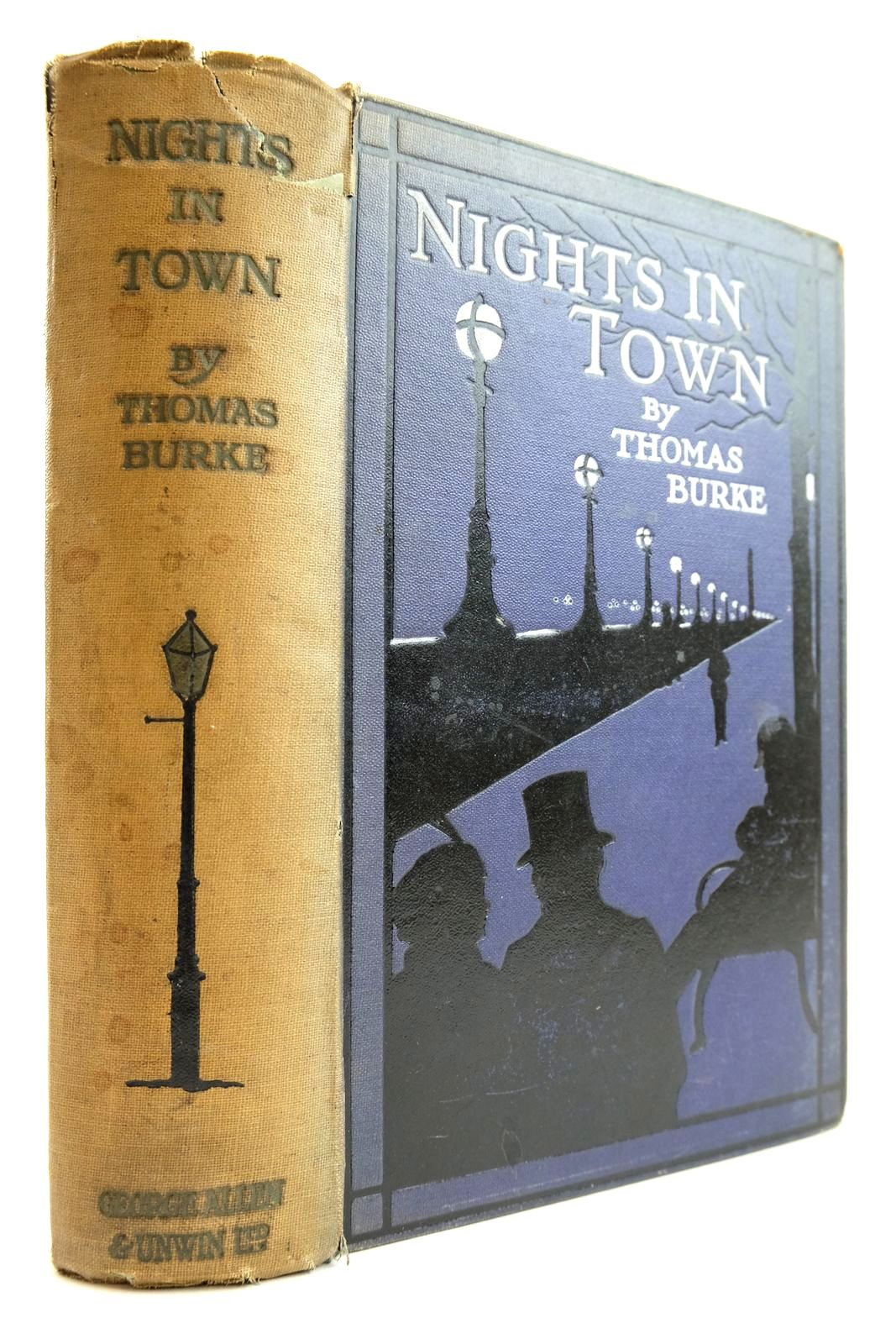 Photo of NIGHTS IN TOWN: A LONDON AUTOBIOGRAPHY written by Burke, Thomas published by George Allen & Unwin Ltd. (STOCK CODE: 2134065)  for sale by Stella & Rose's Books