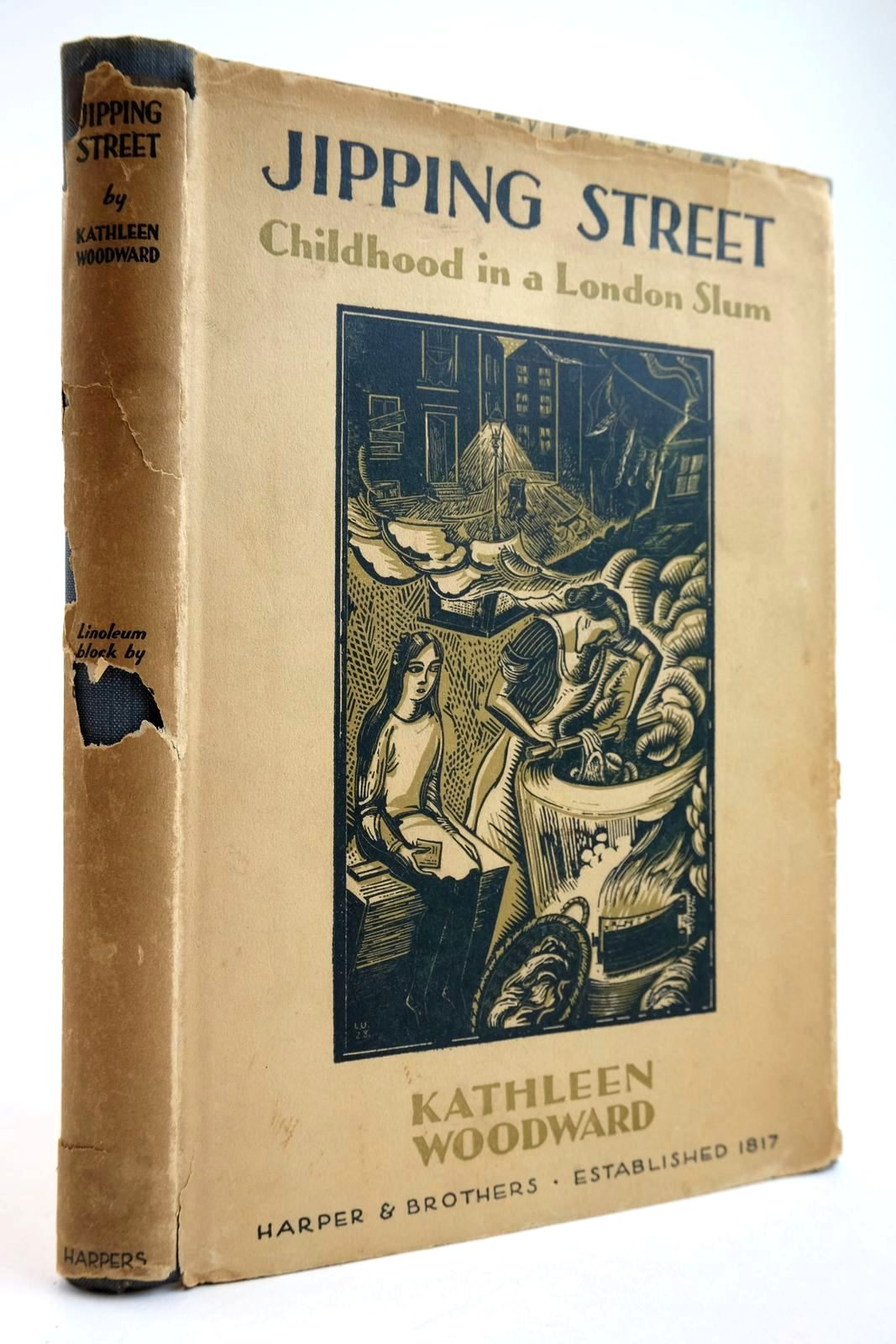Photo of JIPPING STREET: CHILDHOOD IN A LONDON SLUM written by Woodward, Kathleen illustrated by Underwood, Leon published by Harper And Brothers (STOCK CODE: 2134066)  for sale by Stella & Rose's Books